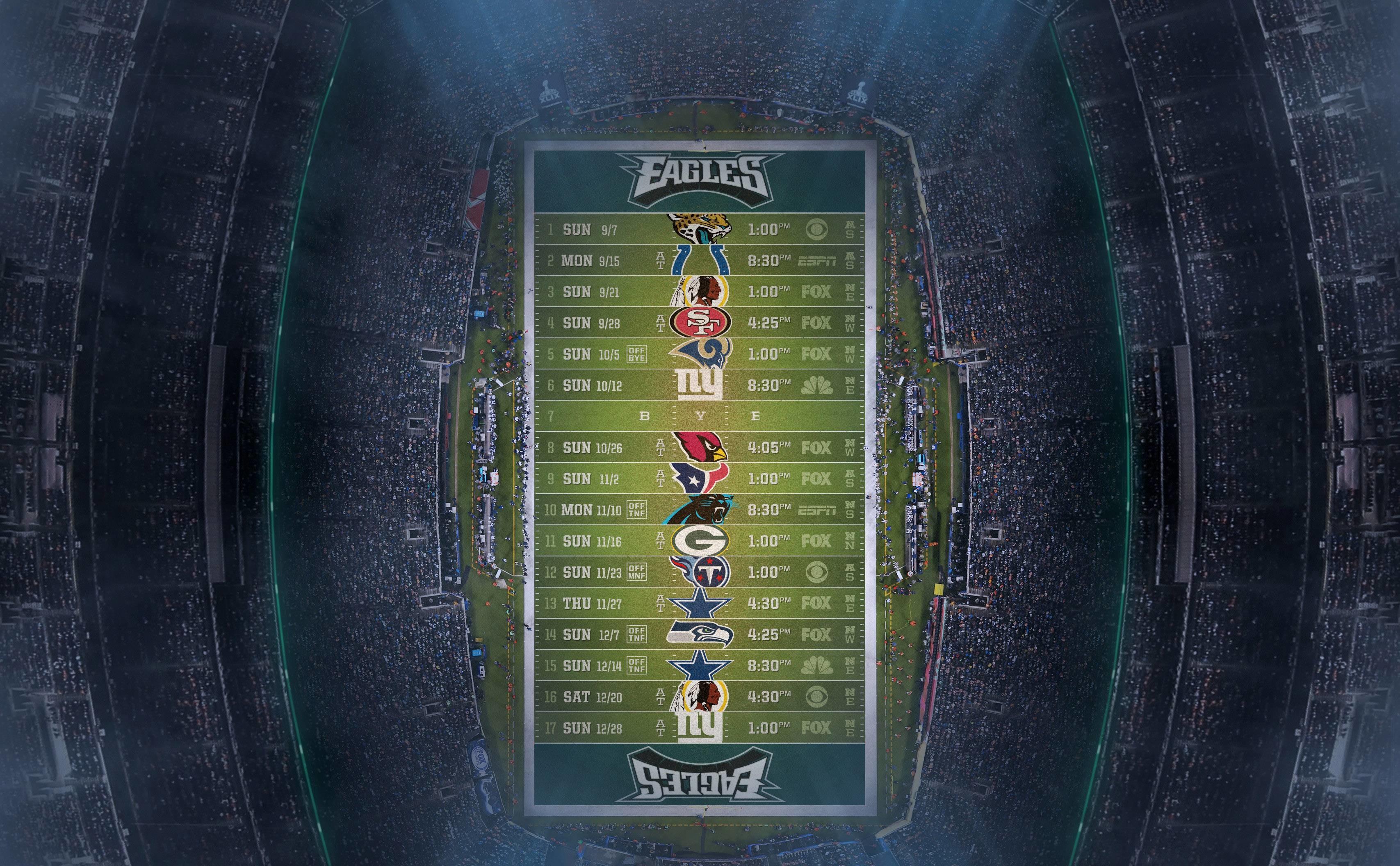 Philadelphia Eagles 2015 Schedule Wallpapers – Wallpaper Cave