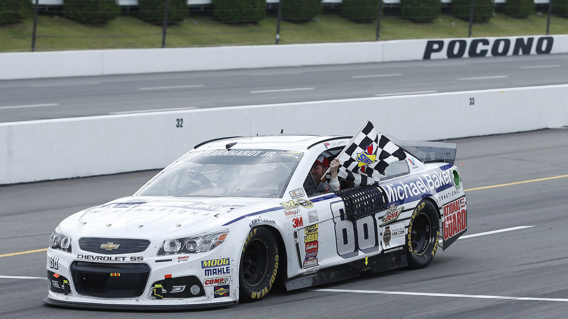 Dale Earnhardt Jr. wins again, sweeps Cup races at Pocono | NASCAR |  Sporting News