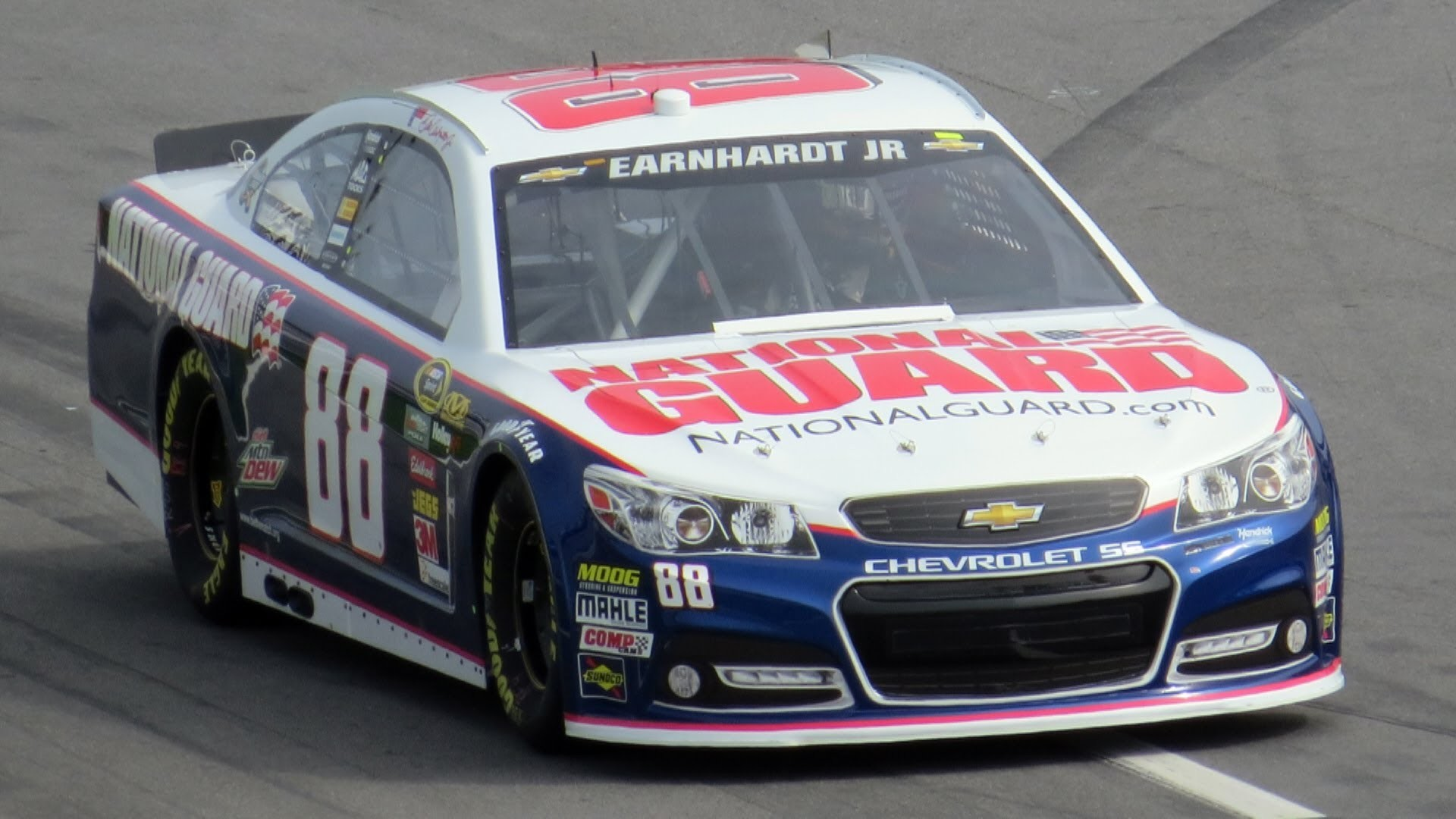 Dale Earnhardt Jr. – Daytona 500 2013 Practice Laps on Track Before  Qualifying