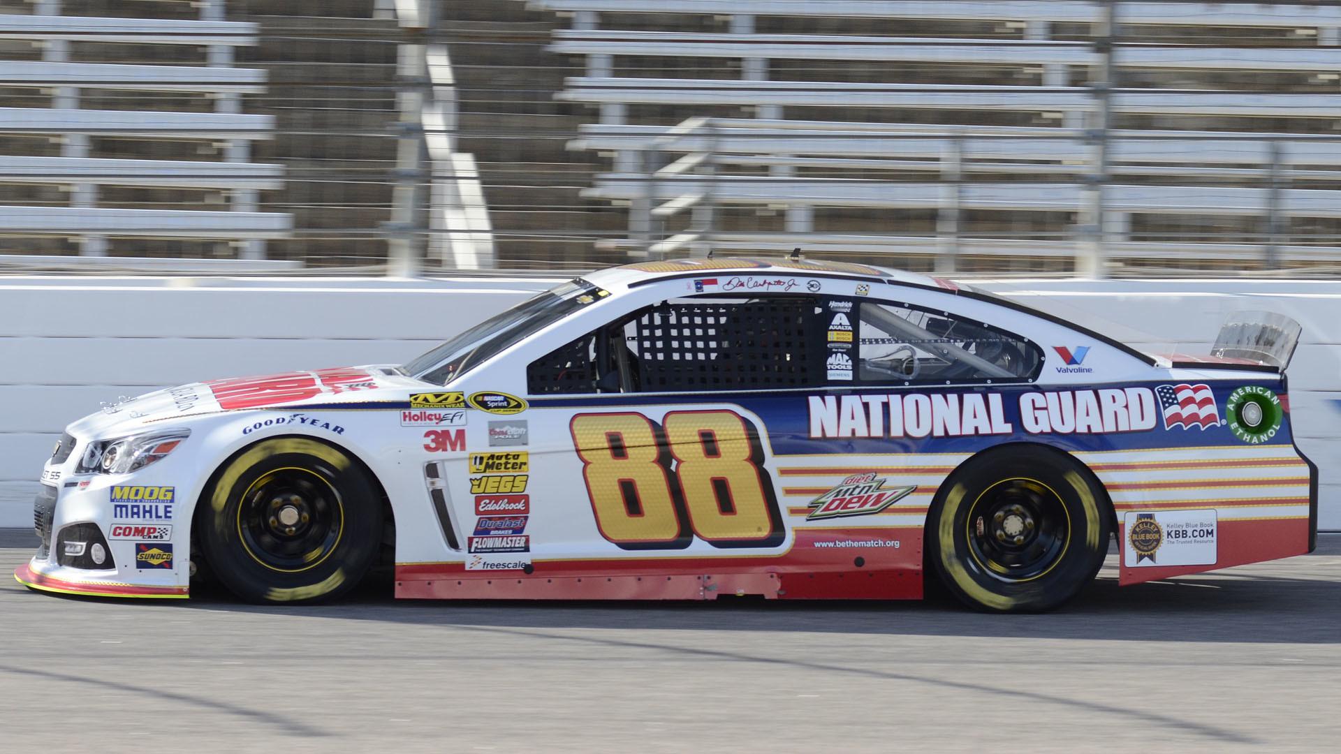 Dale Earnhardt Jr. tops 215 mph as speeds soar during Michigan test |  NASCAR | Sporting News