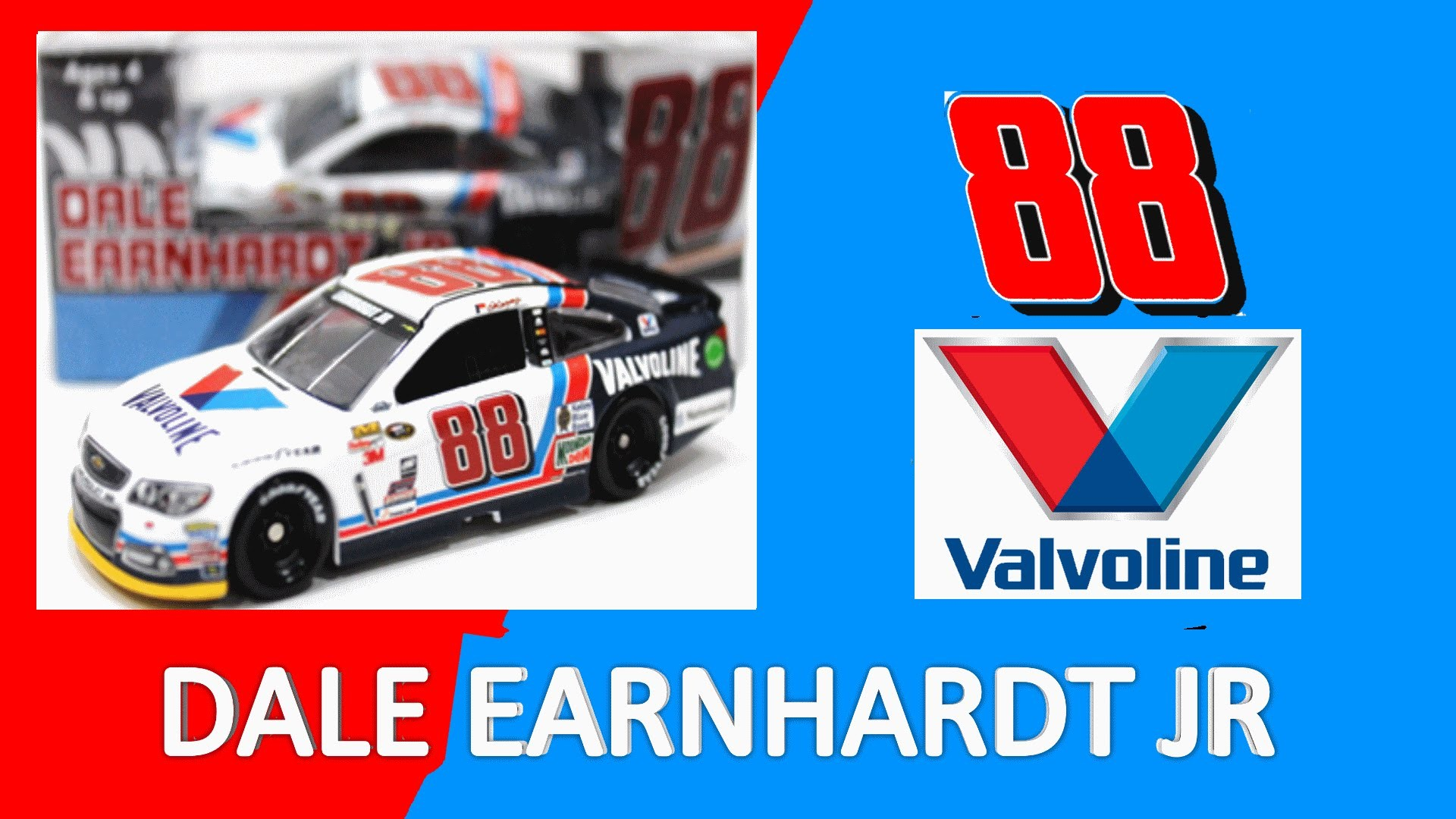 NASCAR DieCast Review Dale Earnhardt Jr Valvoline 2015