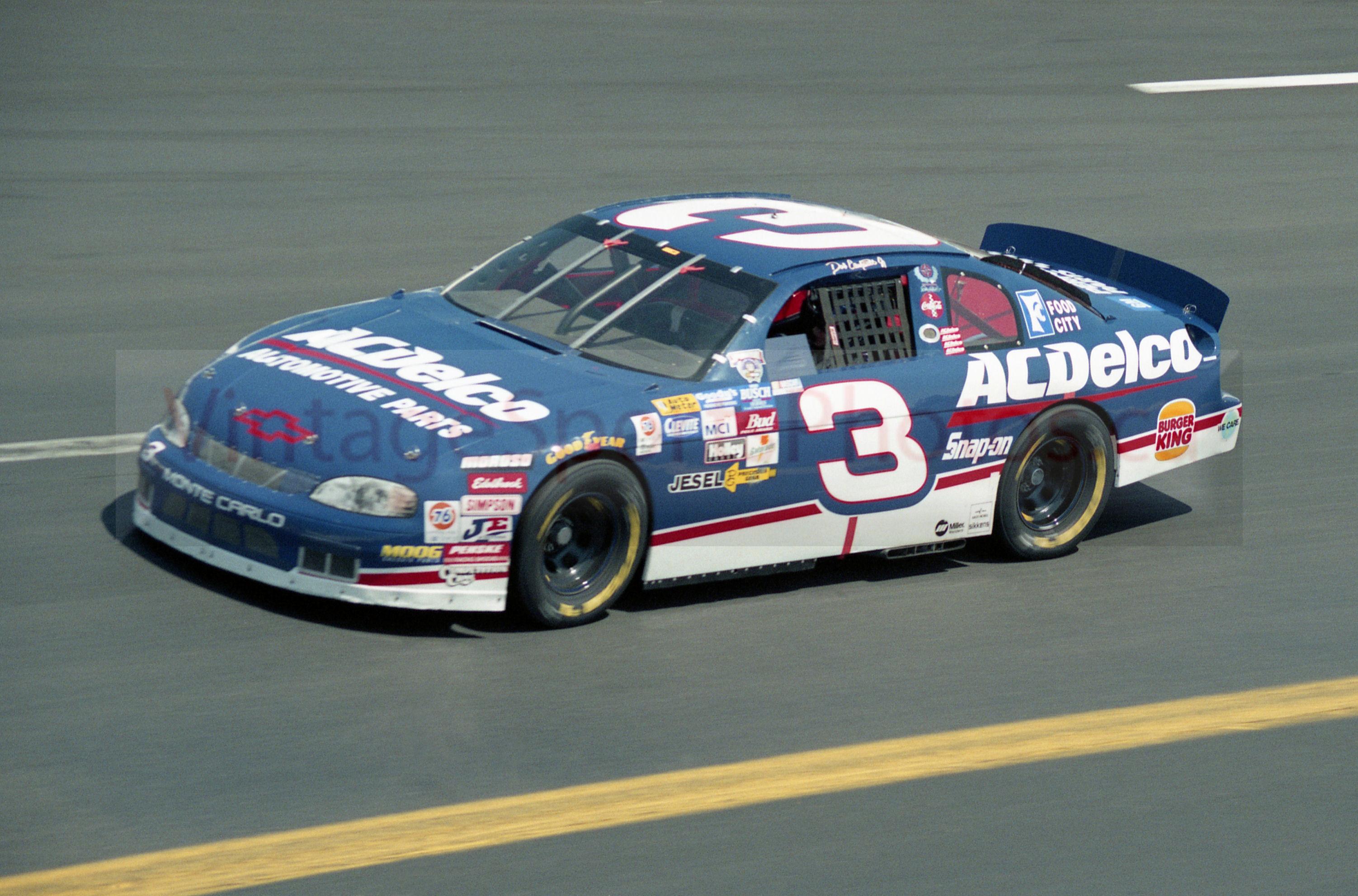 nascar racing | Dale Earnhardt Jr Nascar Vintage Racing AC Delco #3 Car  8X10 or