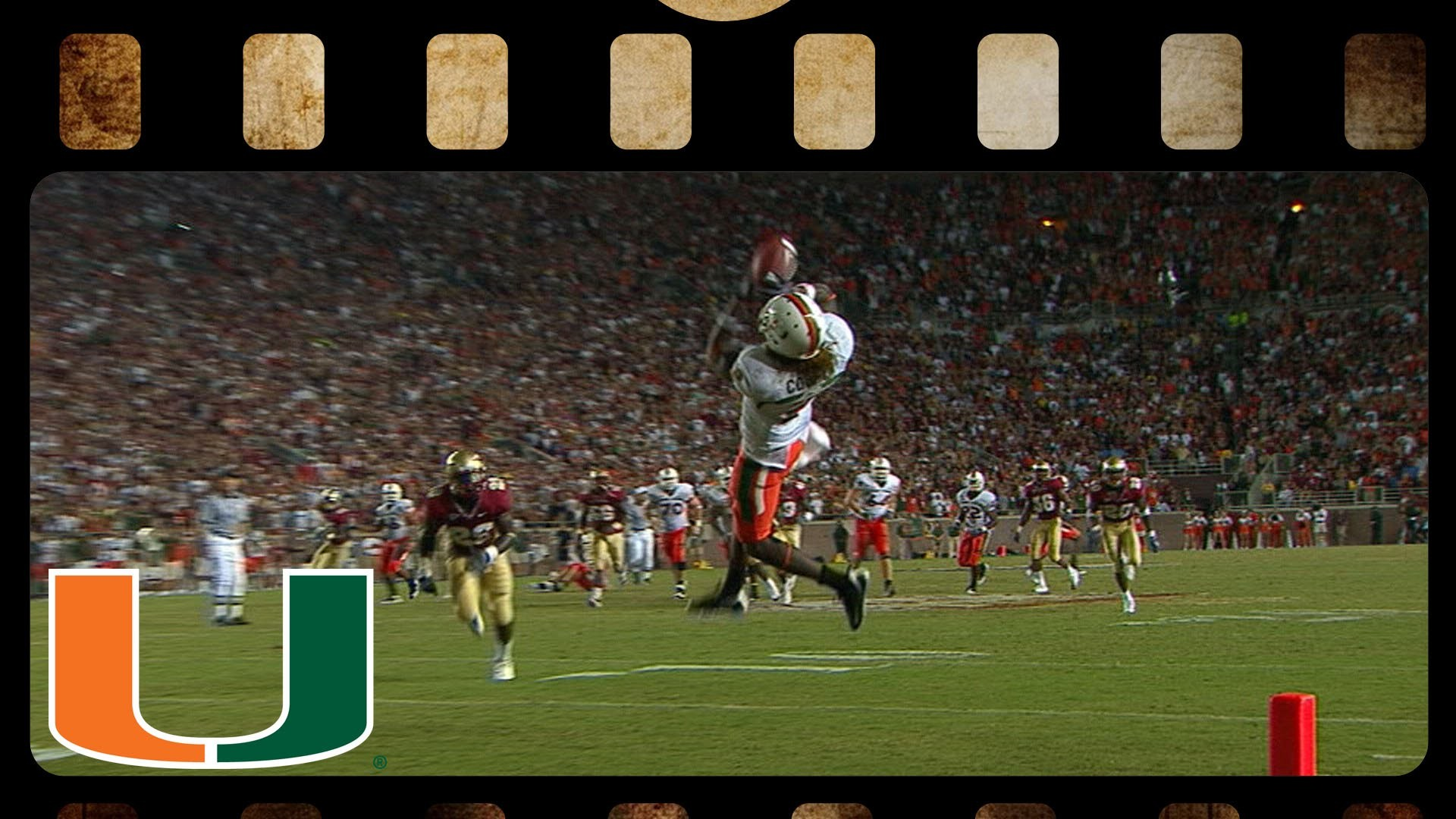 Miami Hurricanes, FSU Football Back and Forth Game In 2009   ACC Hidden Gem  – YouTube