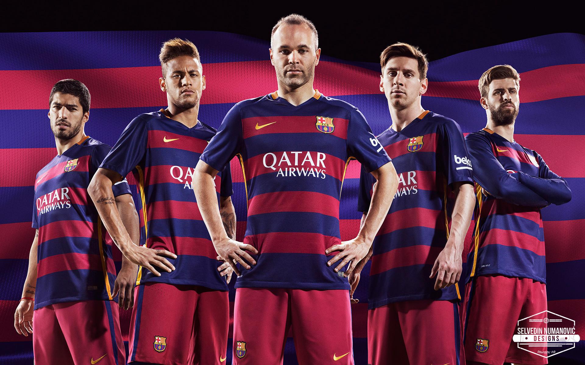 … FC Barcelona 2015/16 HD WALLPAPER by SelvedinFCB