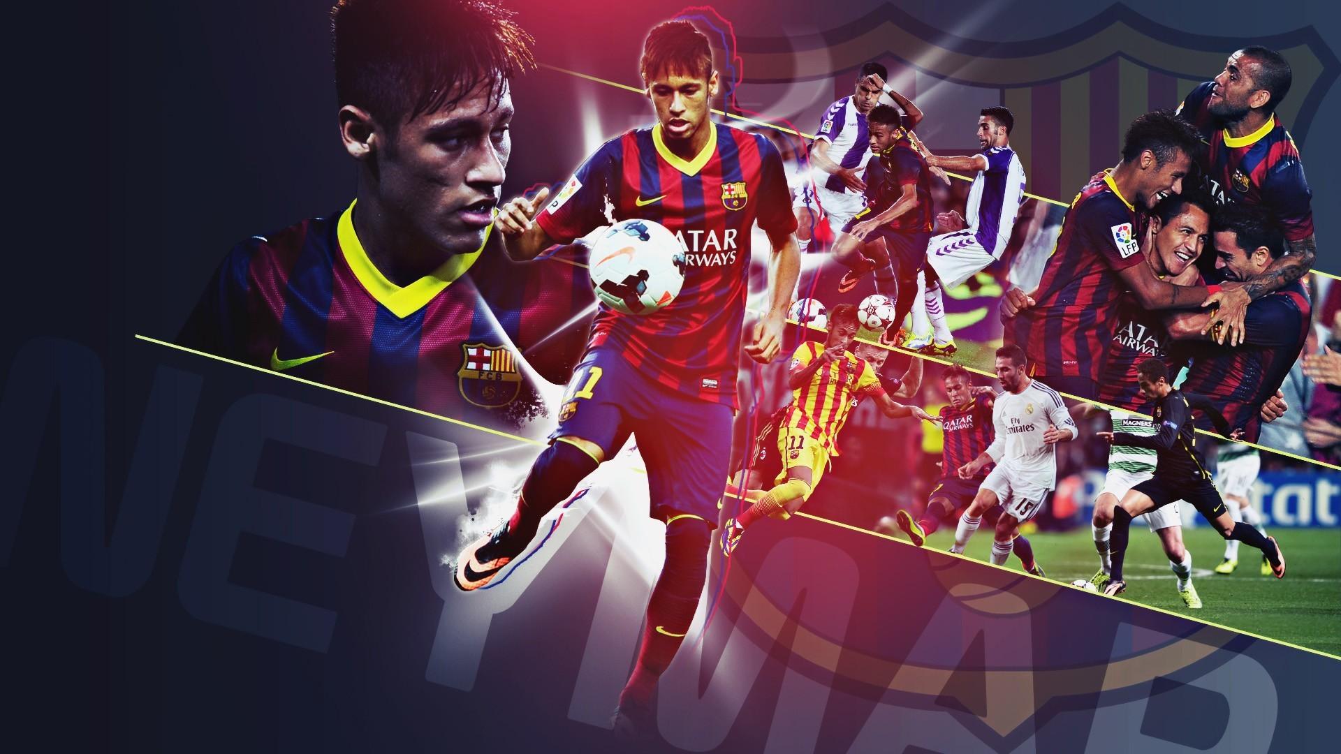 Best FC Barcelona Vs Real Madrid Neymar – FC Barcelona Wallpaper HD 2017  DND2