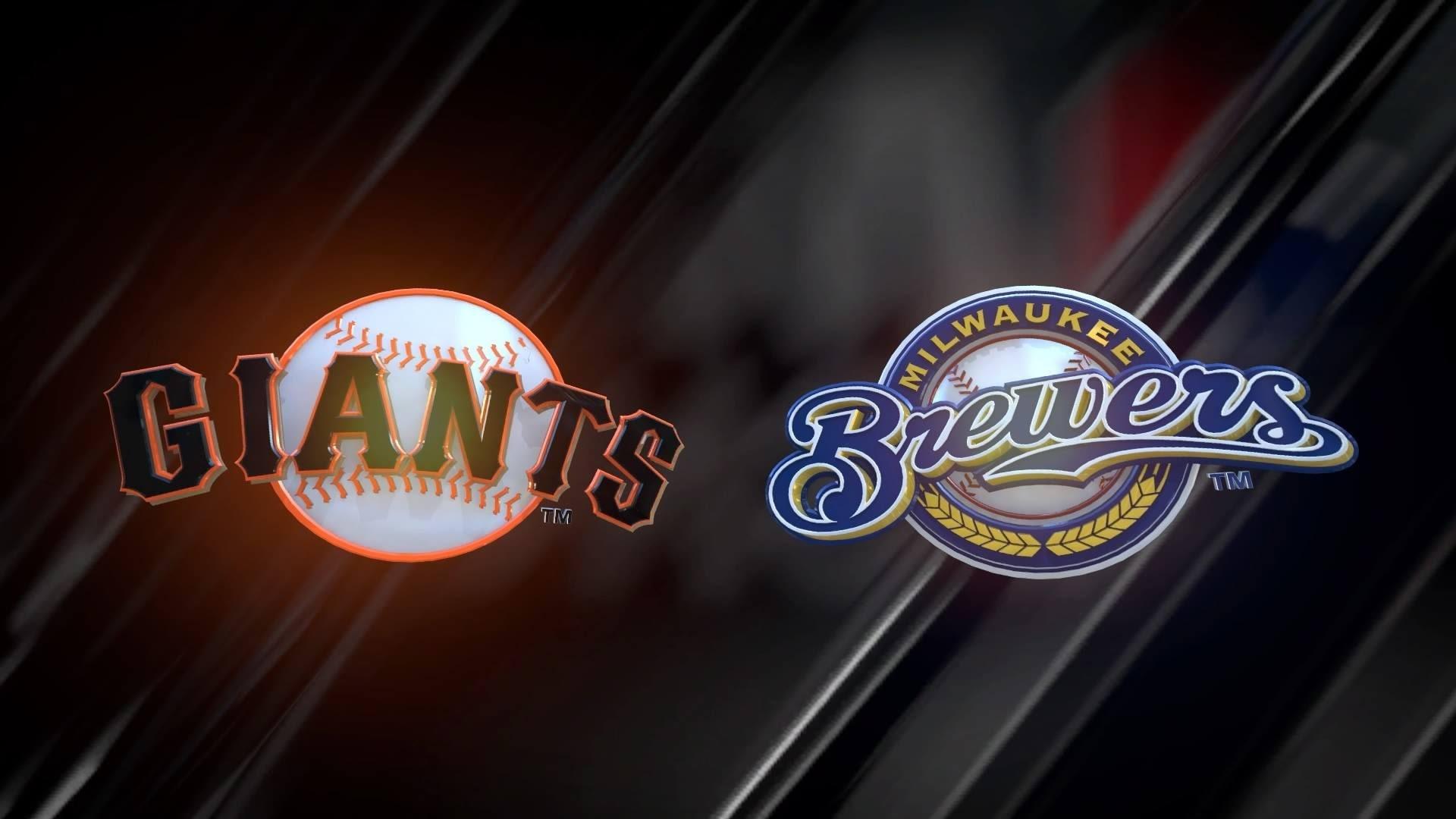 [PS4] MLB® 16 The Show™_ San Francisco GIANTS Vs Milwaukee BREWERS