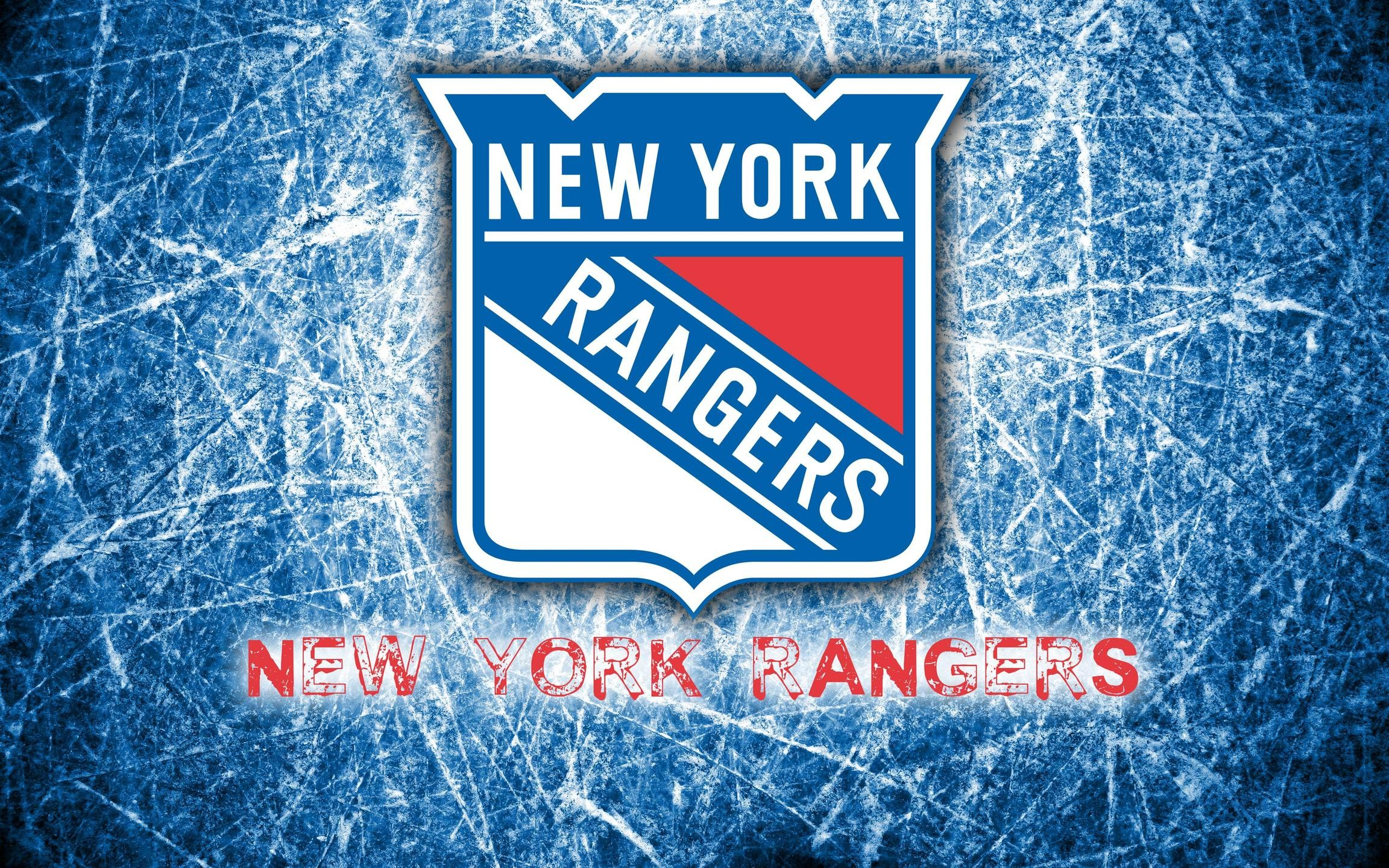 New York Rangers 2014 Logo Wallpaper Wide or HD | Sports Wallpapers