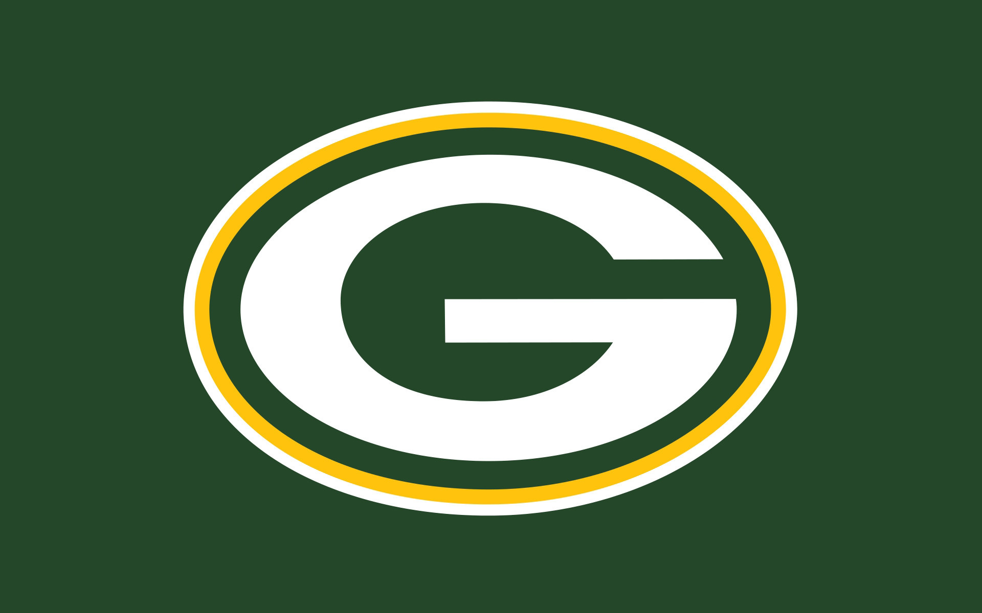 wallpaper packers green background images 1920×1200