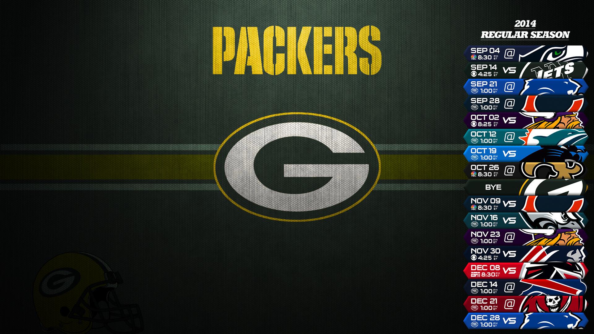 Green Bay Packers Schedule 2014 2015