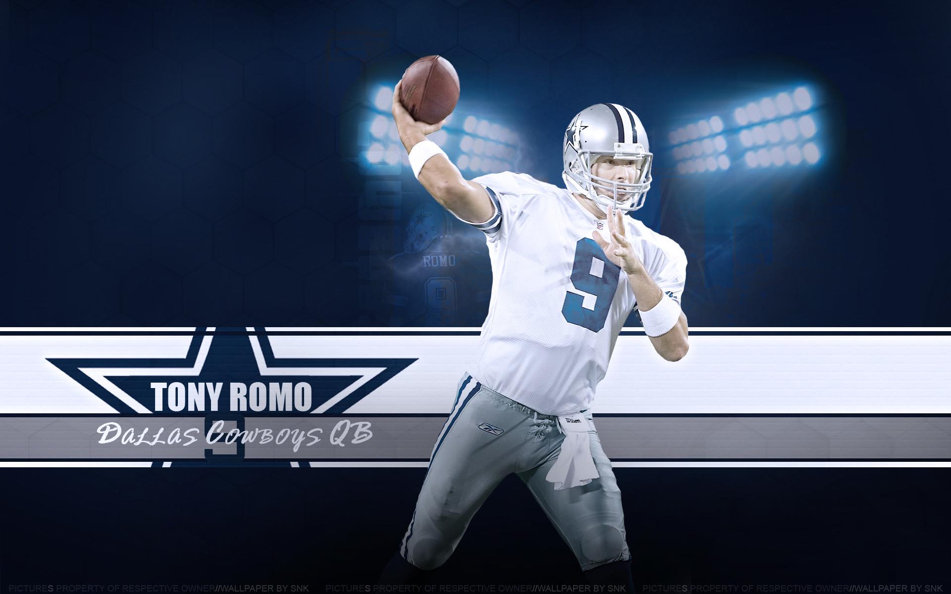 4k Ultra Dallas Cowboys Tony Romo HQ Definition Wallpapers