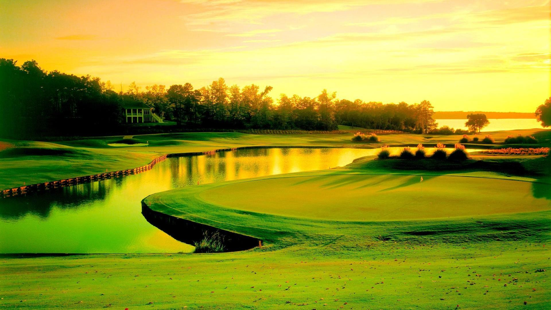 Golf course – (#156278) – High Quality and Resolution Wallpapers on .