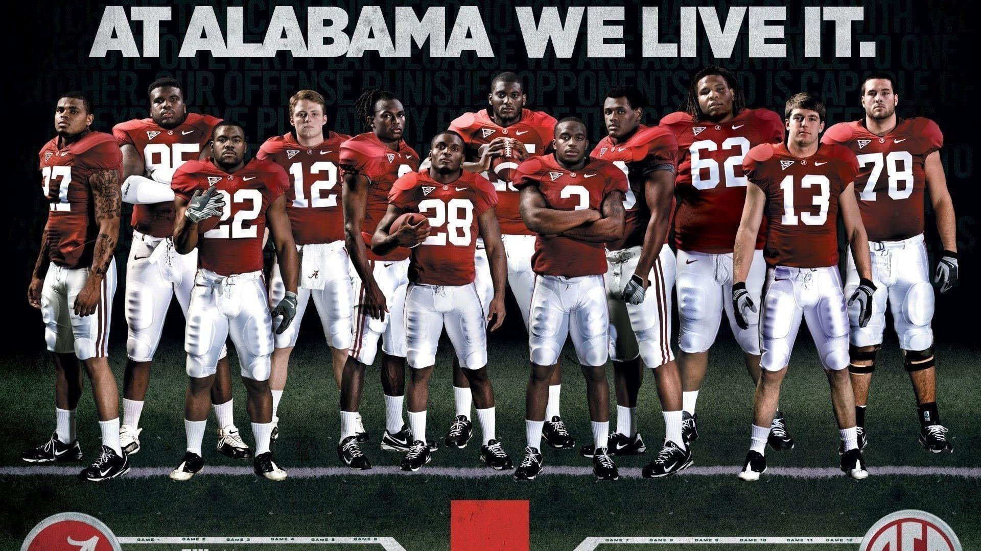Football, College, Crimson Tide, Alabama Football Team .
