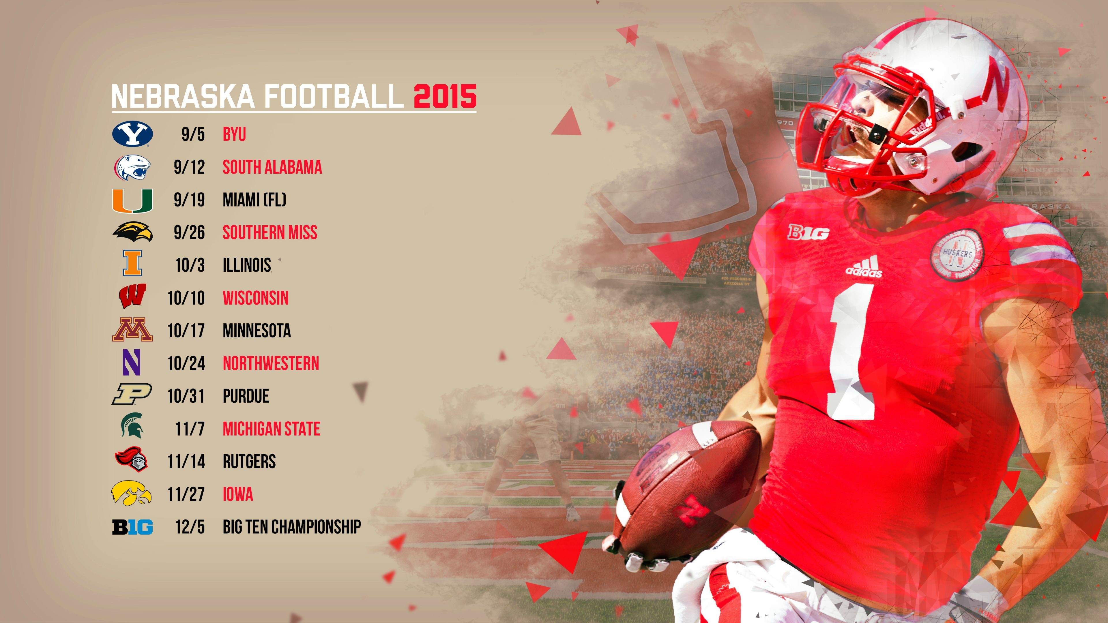 Can someone make a wallpaper with the 2016 schedule, something like this?  …