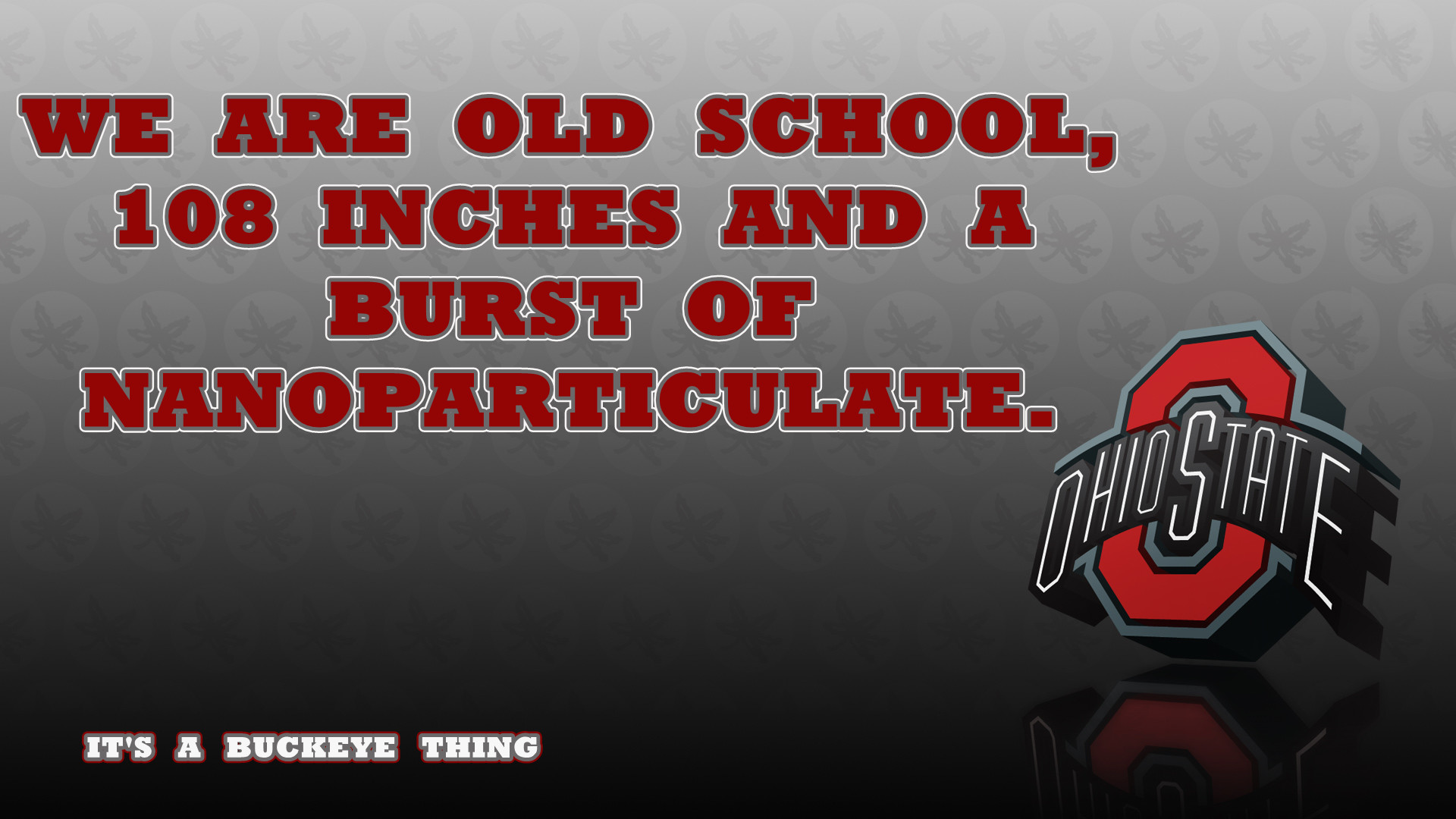 Ohio State Buckeyes Quotes Wallpaper.