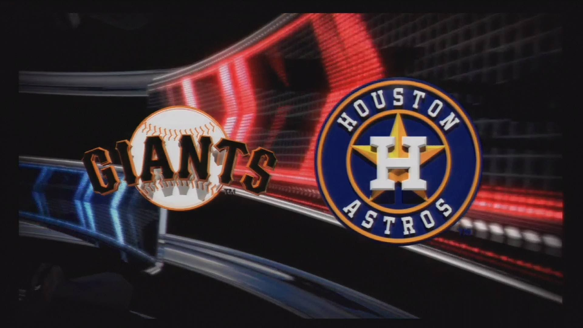 MLB 13 The Show Gameplay – San Francisco Giants at Houston Astros – 1 Inning