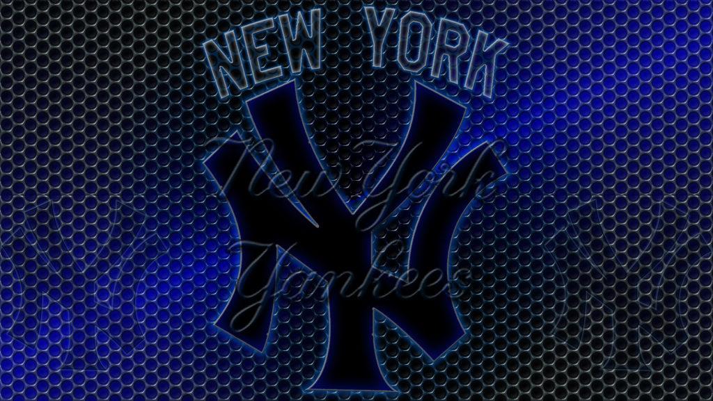 New York Yankees Logo Grid Wallpaper | Free Download Wallpaper .
