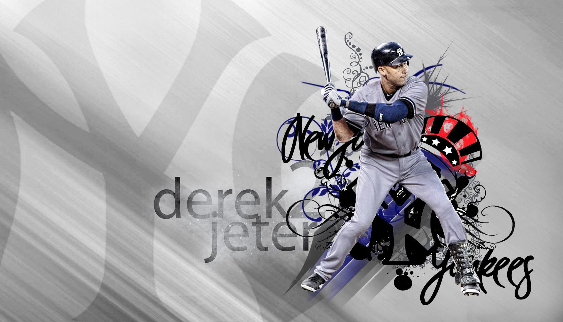 Derek Jeter New York Yankees Wallpaper.