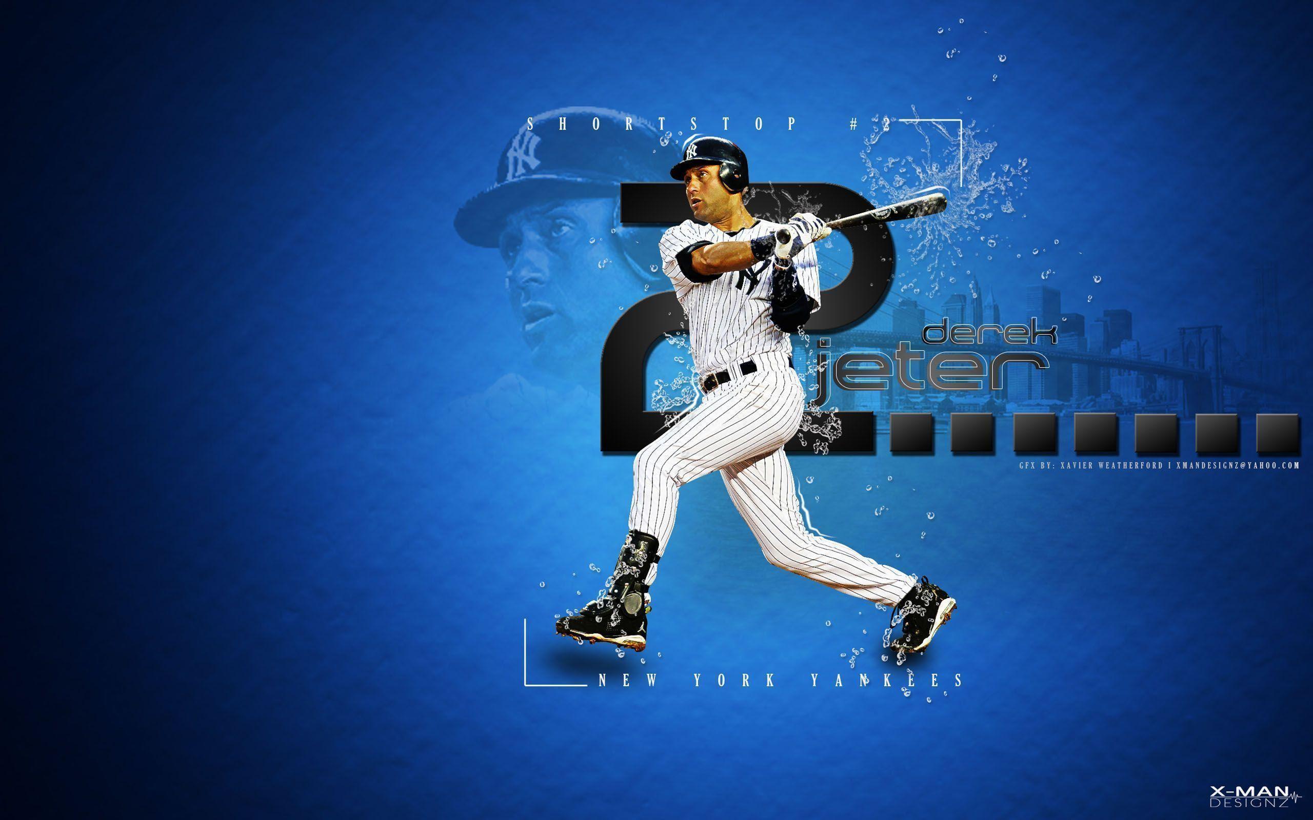 Derek Jeter New York Yankees wallpaper
