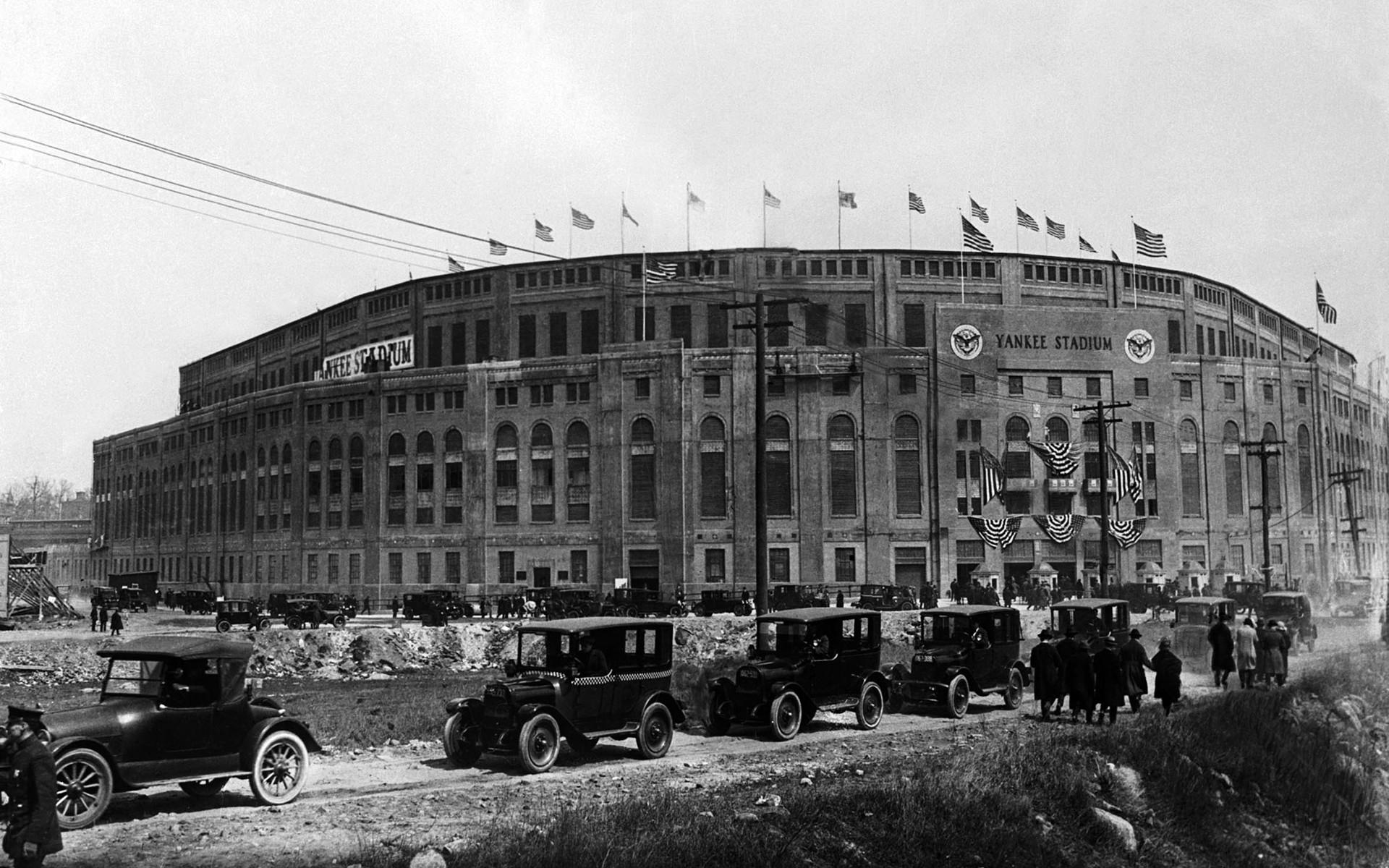 Baseball Field New York City Stadium USA Yankee