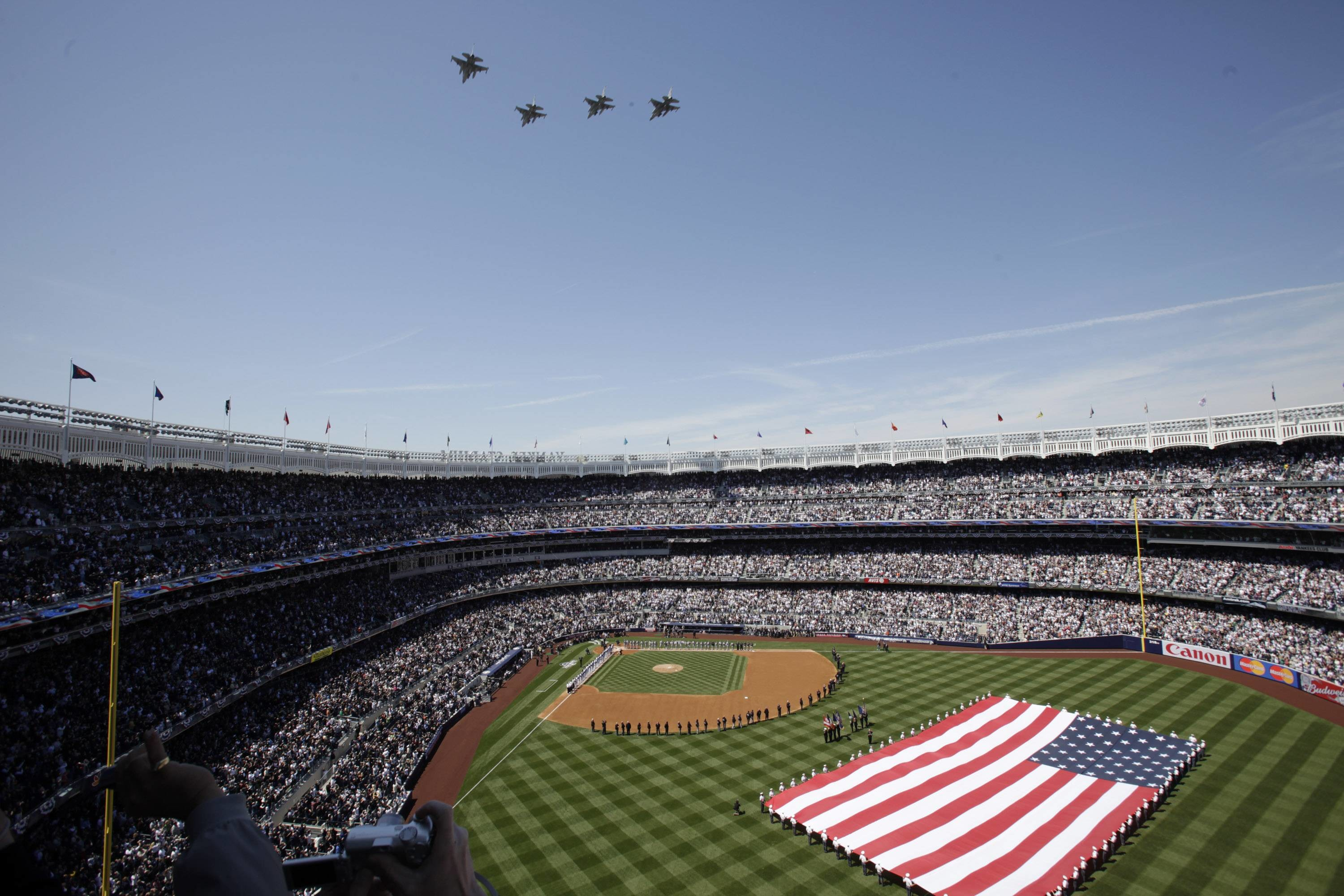 Yankee Stadium New York City Wallpaper Wide or HD   Sports Wallpapers