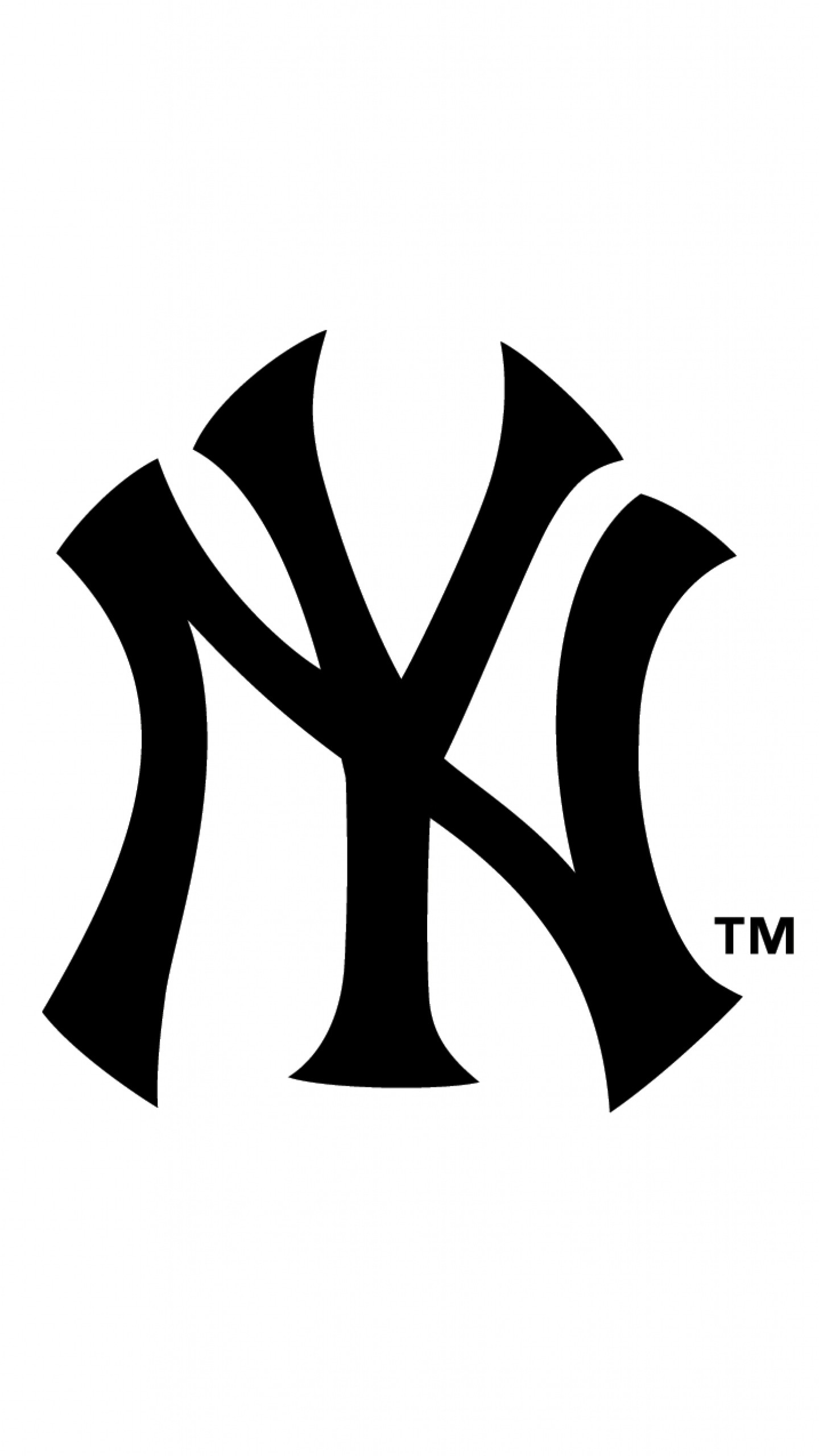 Preview wallpaper new york yankees, logo, famous brand 1440×2560