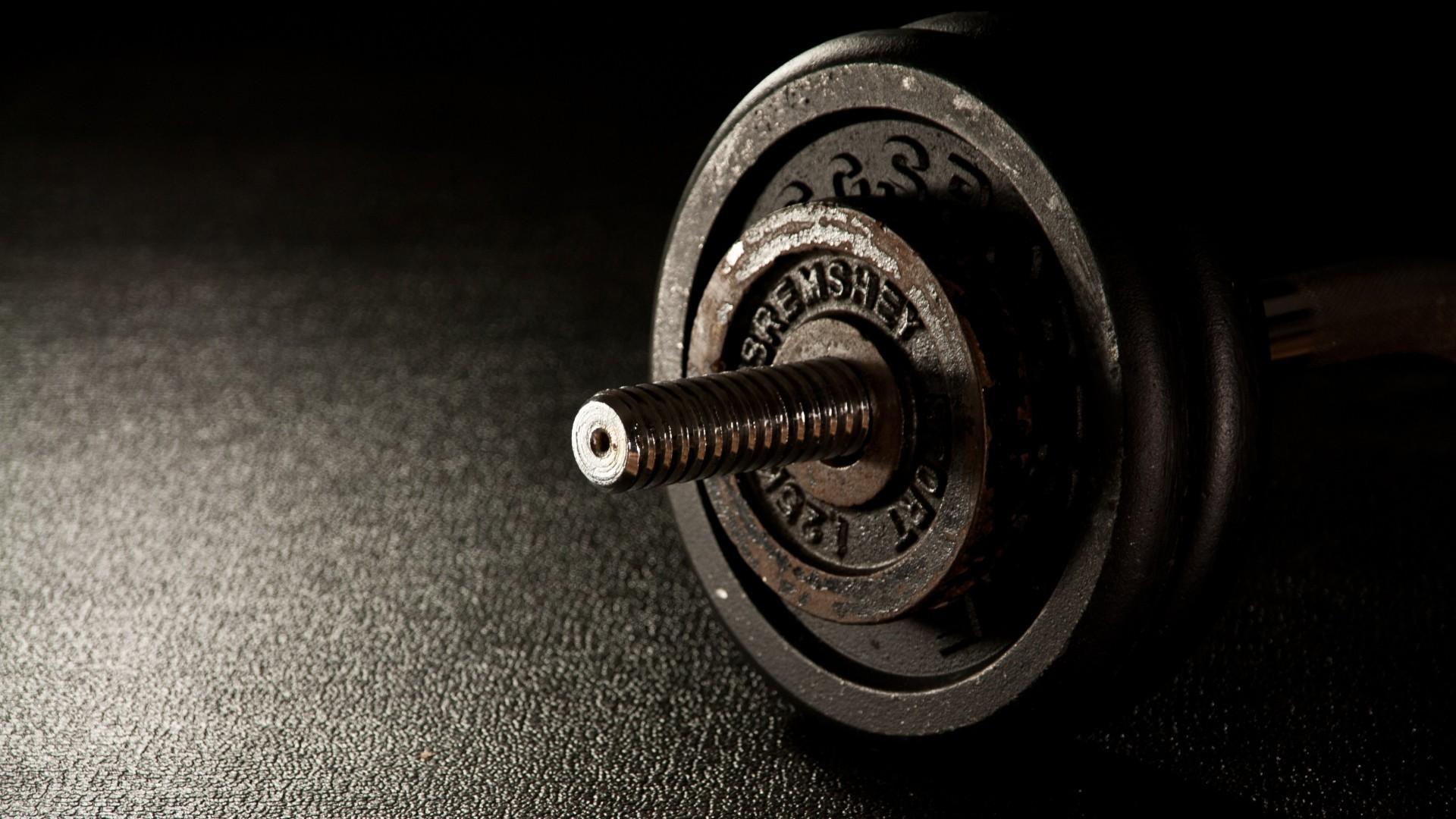 Wallpaper dumbbells, fitness, gym