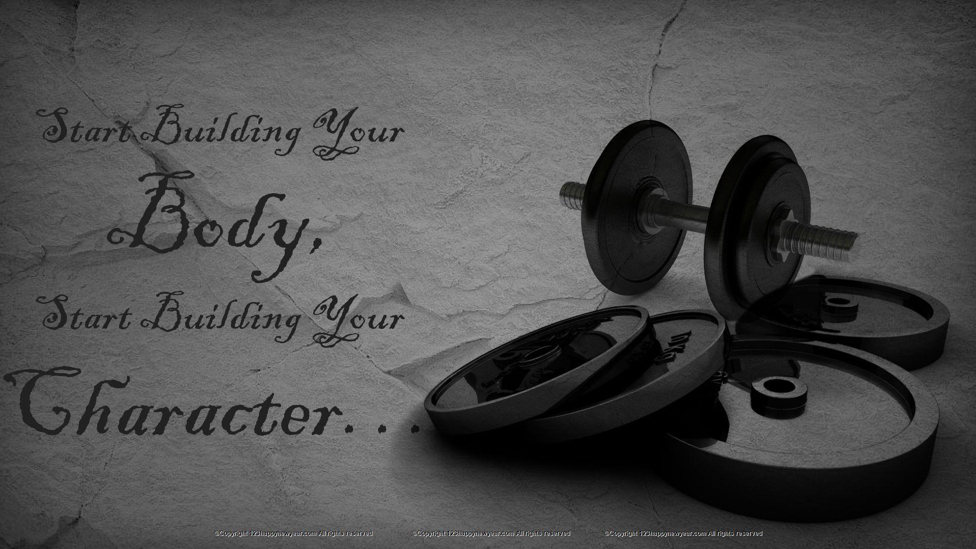 Gym Workout Hd Wallpaper