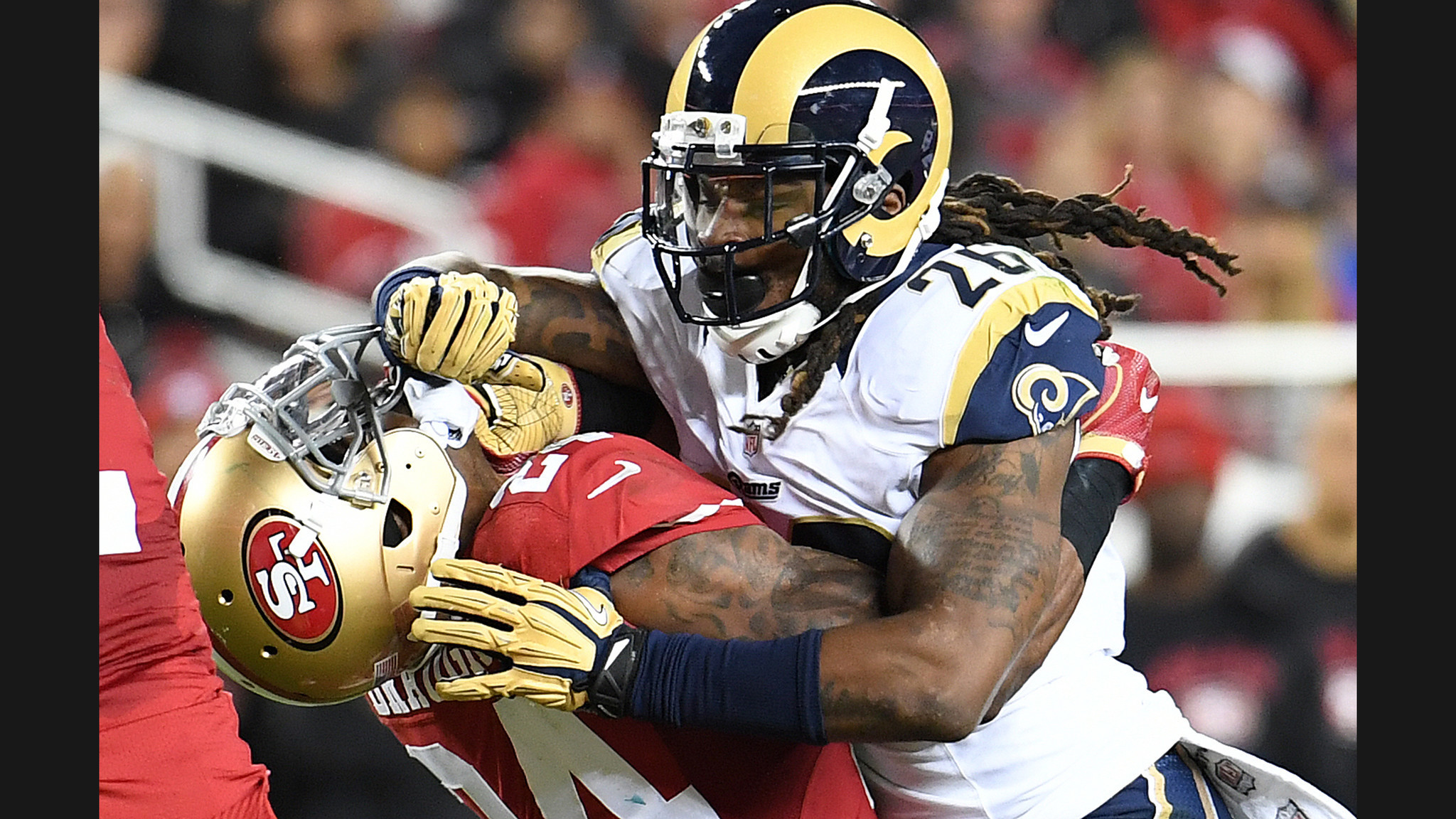 It's a forgettable opening night for the Los Angeles Rams in 28-0 loss to  the San Francisco 49ers – LA Times