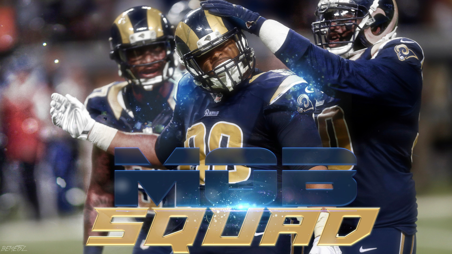 St. Louis Rams Mob Squad Wallpaper