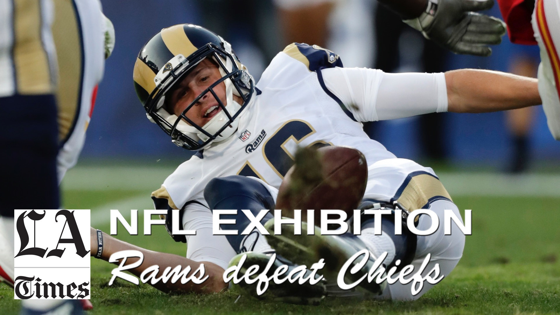 Todd Gurley scores in L.A. debut as the Rams beat the Chiefs, 21-20 – LA  Times