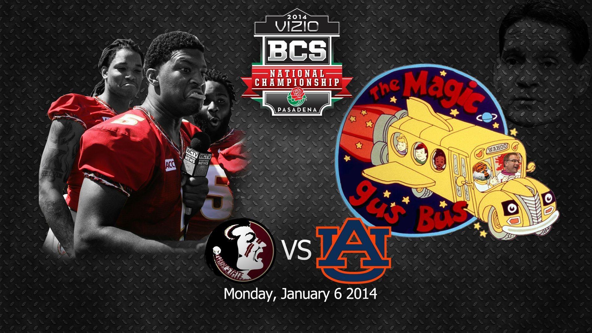 2014 BCS National Championship Florida State vs Auburn Wallpaper : CFB