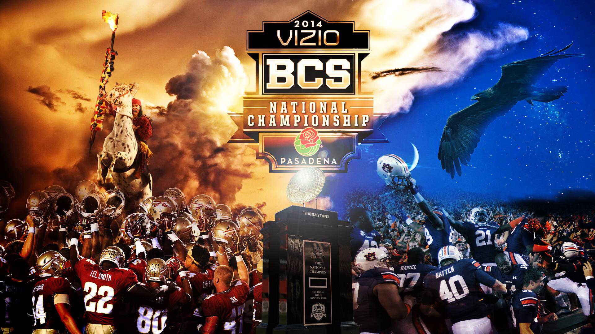 Wallpaper for the 2014 BCS National Championship Game #1 Florida State  Seminoles vs. #