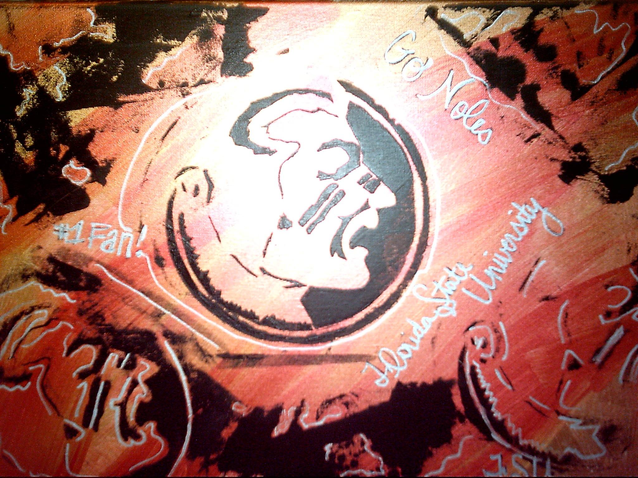 Fsu Logo Wallpaper Fsu silkscreen by