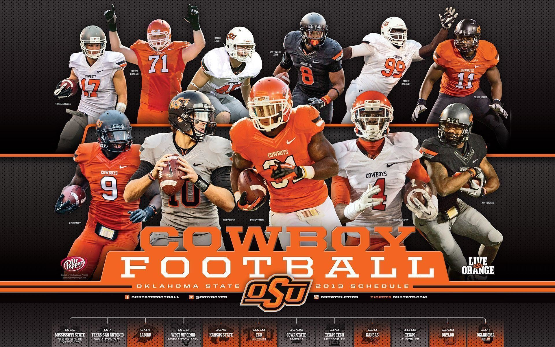 Oklahoma State Football Wallpapers – Wallpaper Zone