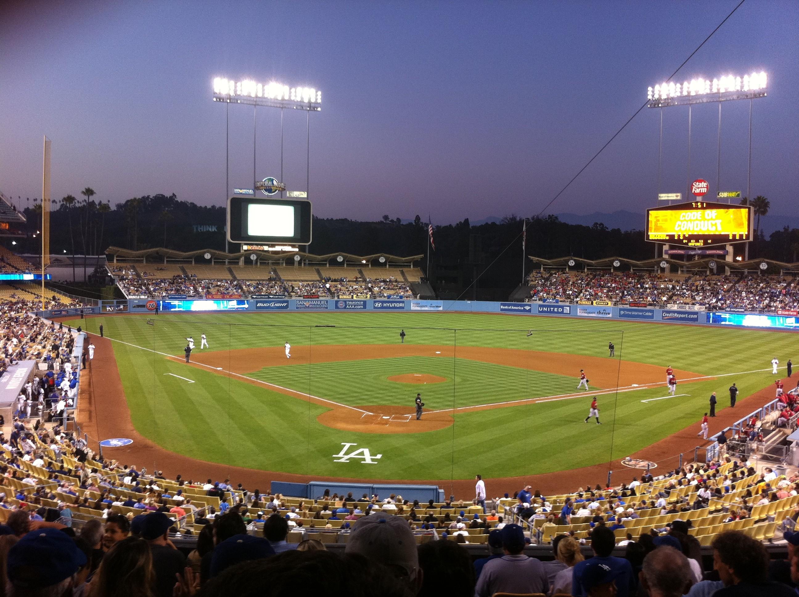 Download HD Dodger Stadium Sport Wallpapers.