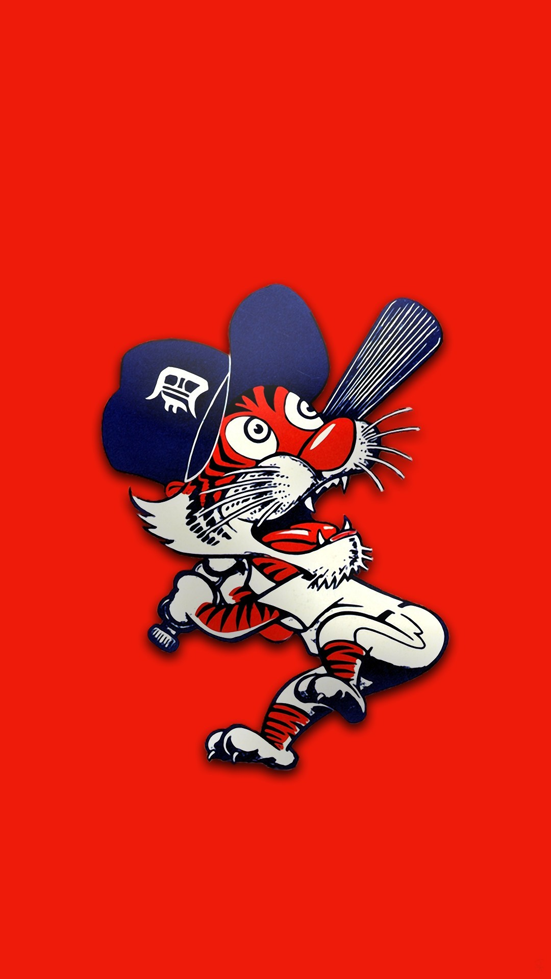 Detroit Tigers Baseball iPhone Wallpaper