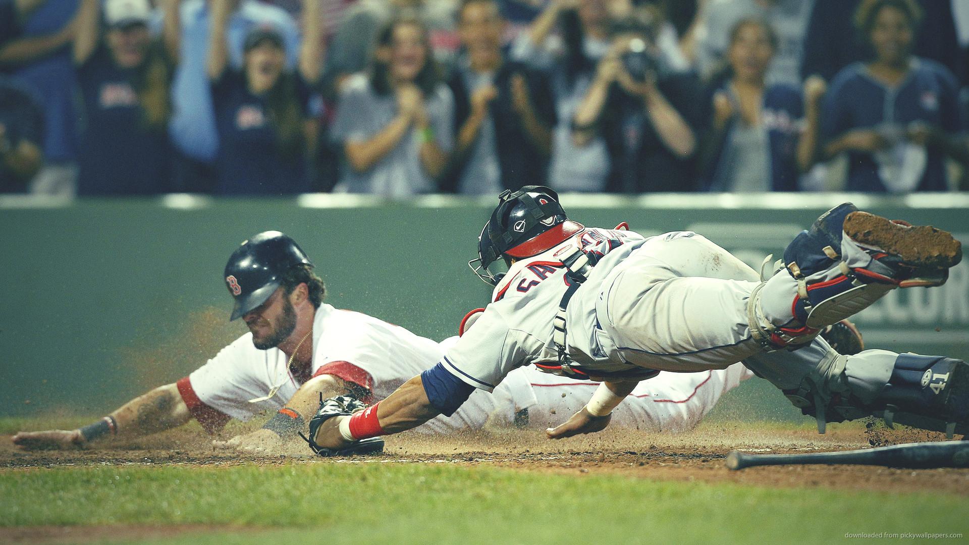 Red Sox Jarrod Saltalamacchia anв Cleveland Indians Carlos Santana picture