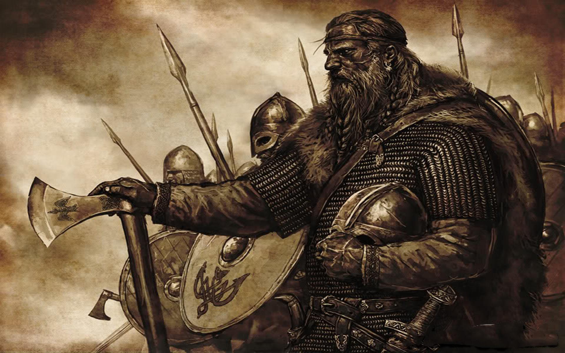 Vikings Artwork Wallpaper Vikings, Artwork, Medieval