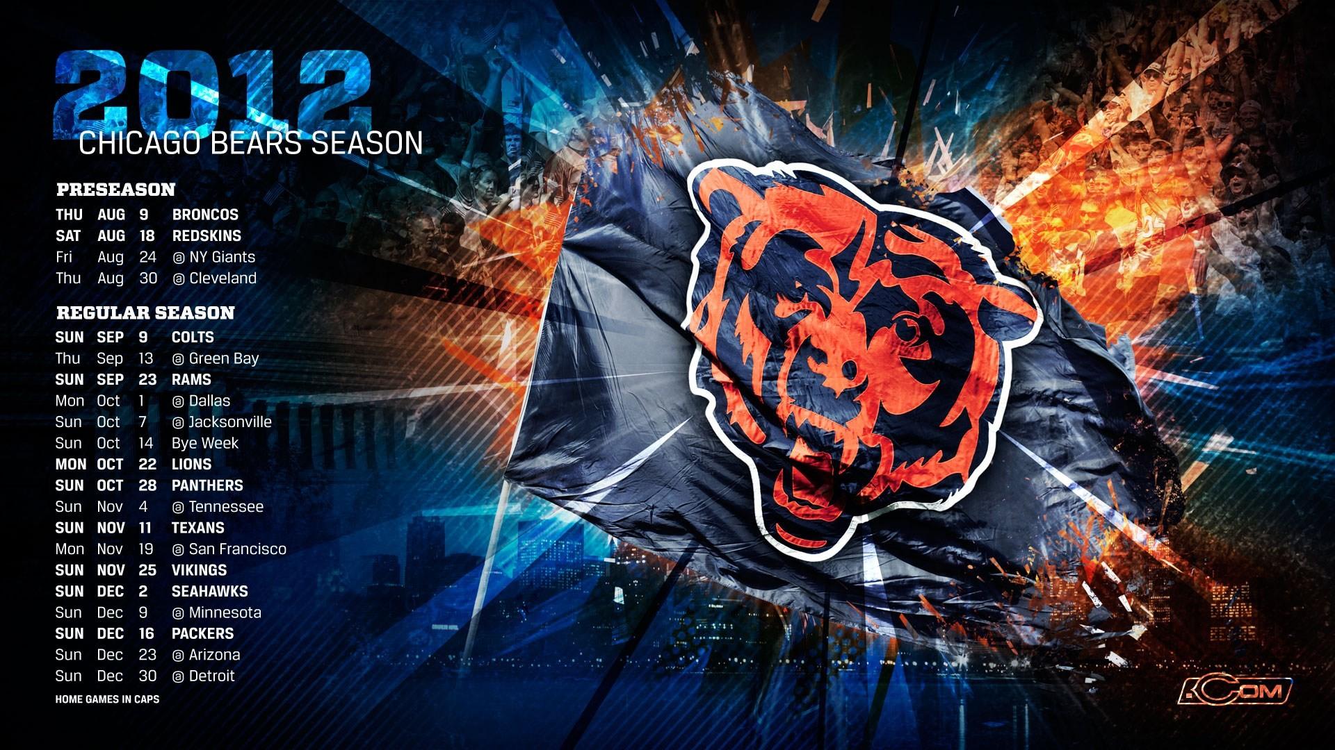 chicago bears Chicago Bears american football hd desktop 1920×1080