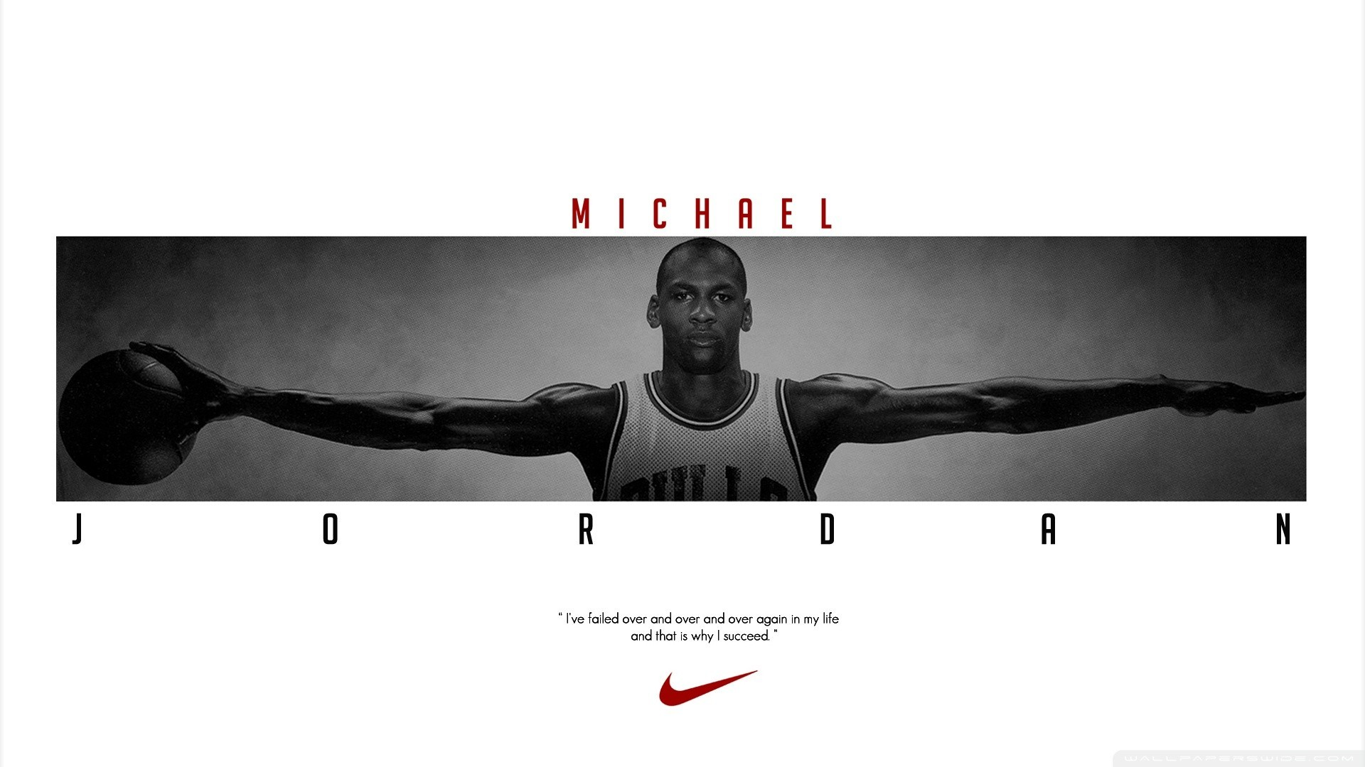 … Background Full HD 1080p. Wallpaper michael jordan, chicago  bulls, nike, basketball