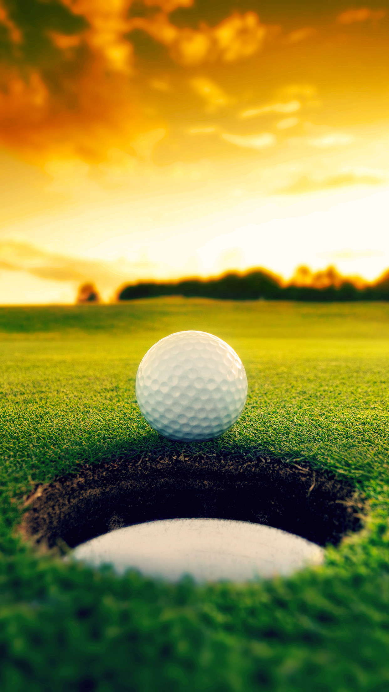 Golf Sunrise 3Wallpapers iPhone Parallax Les 3 Wallpapers iPhone du .
