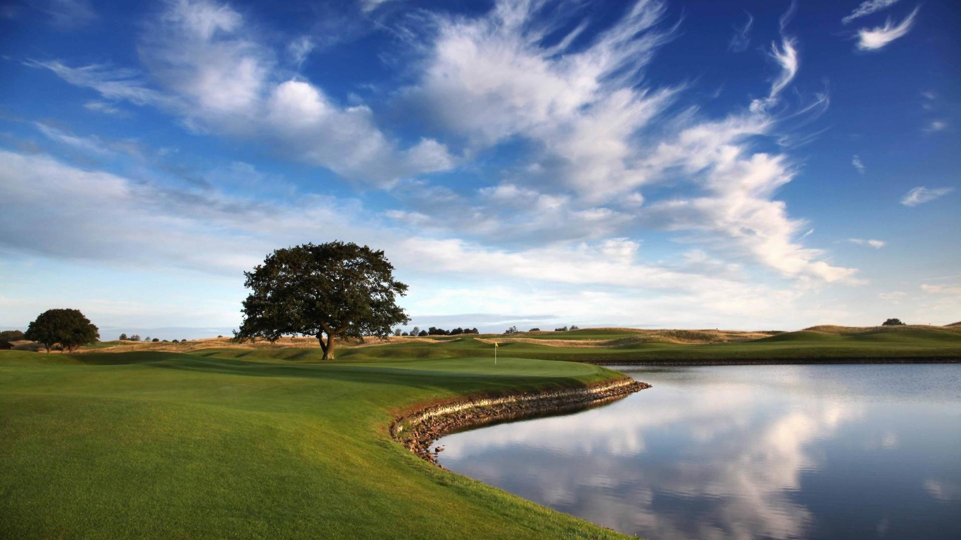 Golf Course Sky Wallpaper For Android #12310 Wallpaper | Wallpaper .