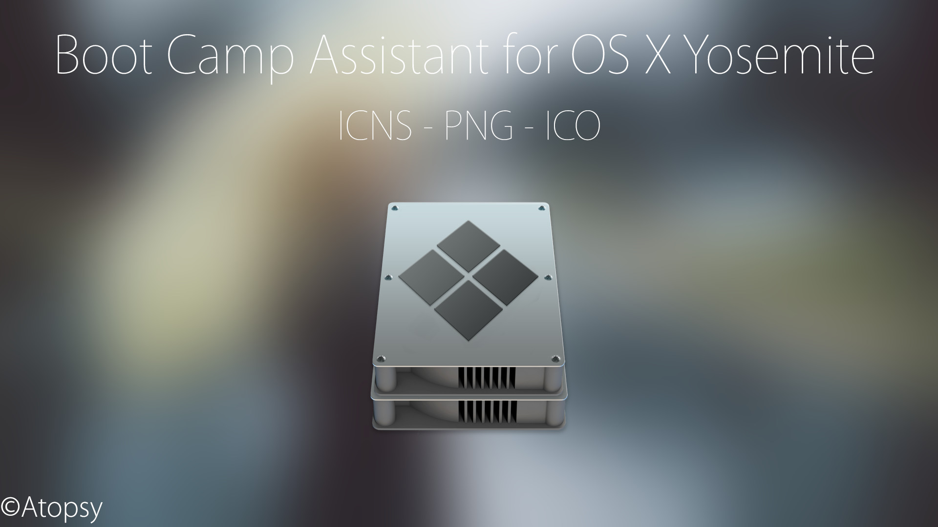 … Boot Camp Assistant for OS X Yosemite (Re-Upload) by Atopsy