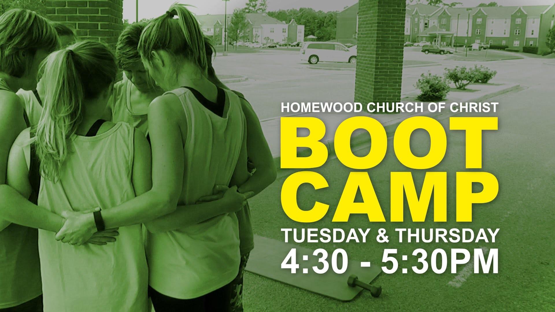 Homewood Church Boot Camp Promo