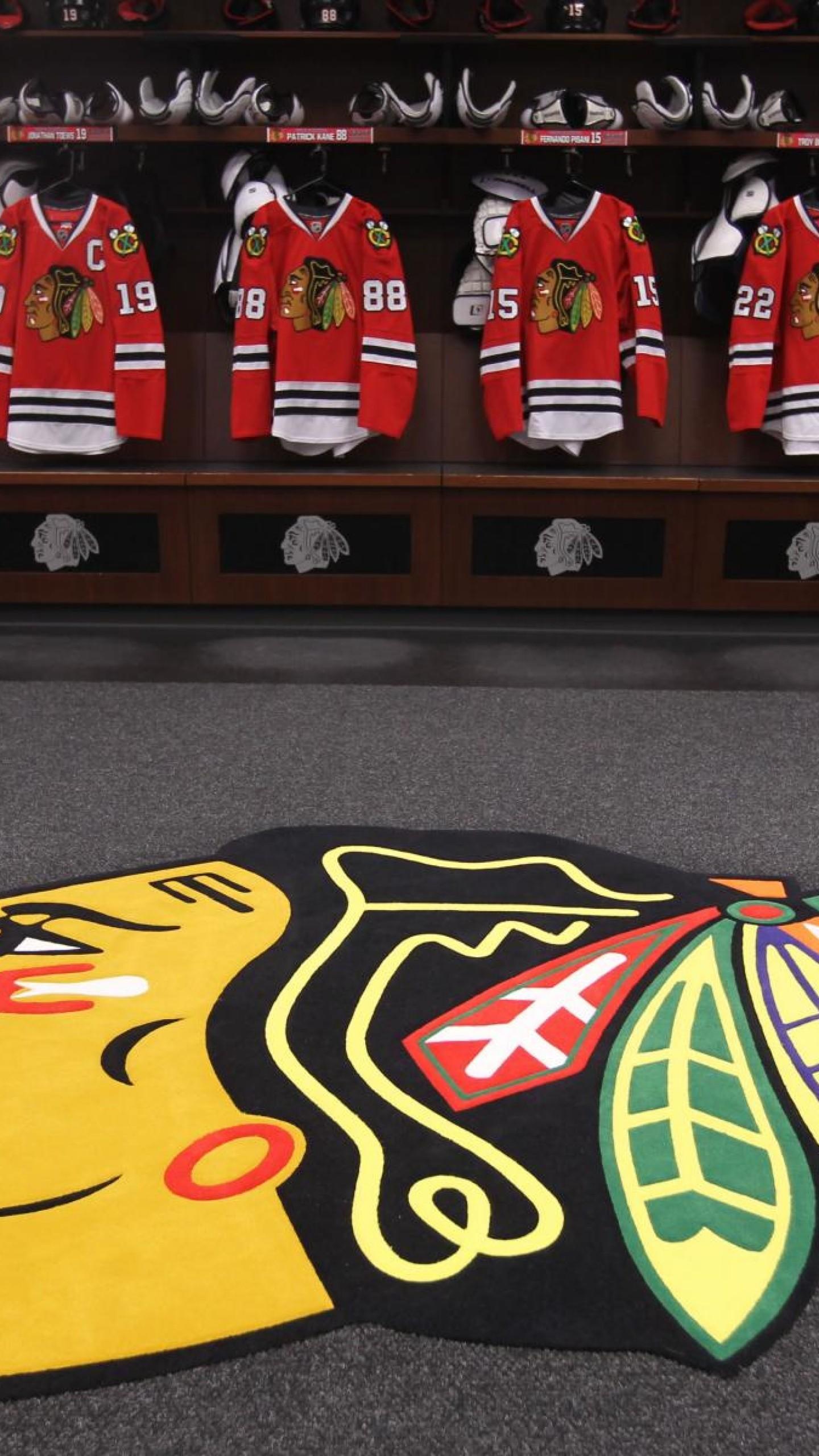 Wallpaper chicago blackhawks, hockey club, america, hockey