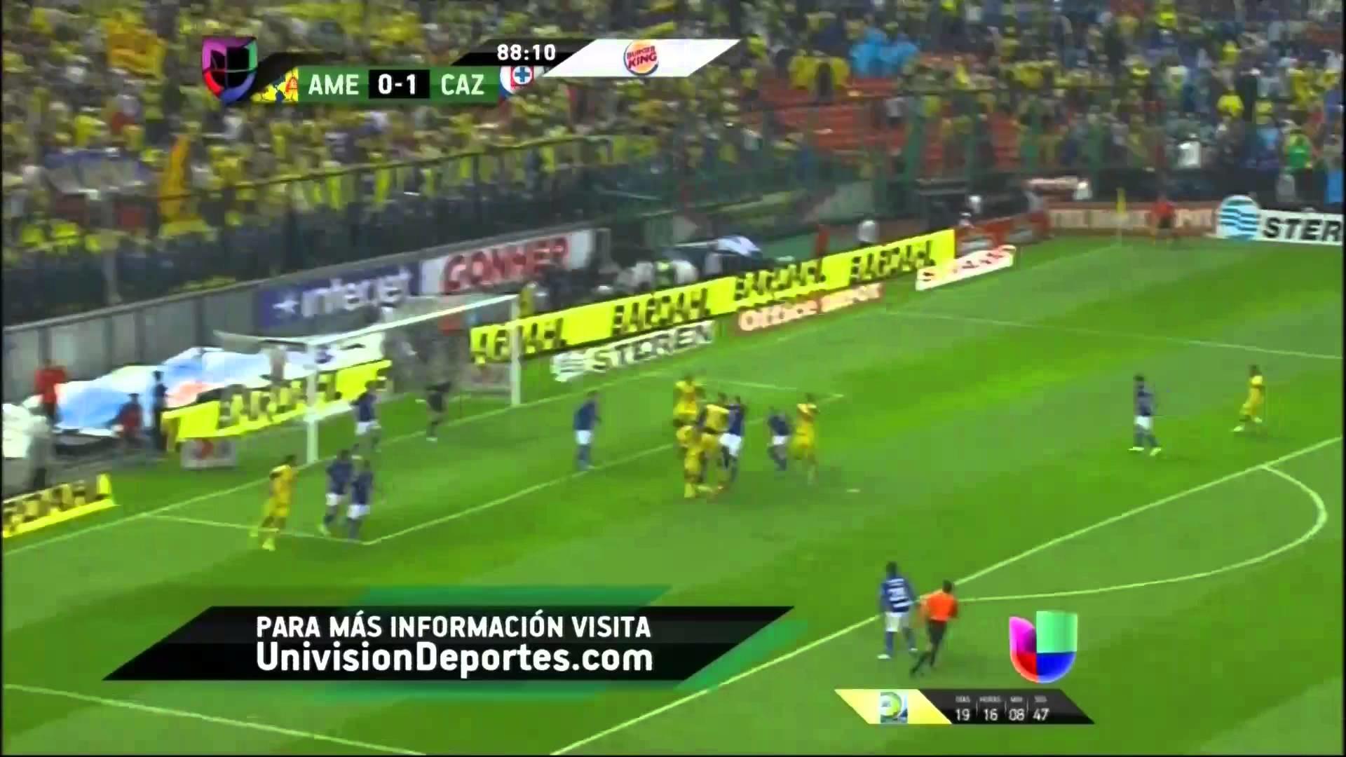 America vs Cruz Azul Final 2-1 Vuelta 2013 HD – YouTube
