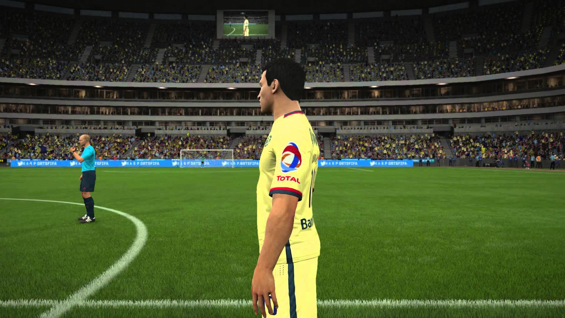 FIFA 16 | CLUB AMÉRICA CARAS / PLAYER FACES | TITULARES