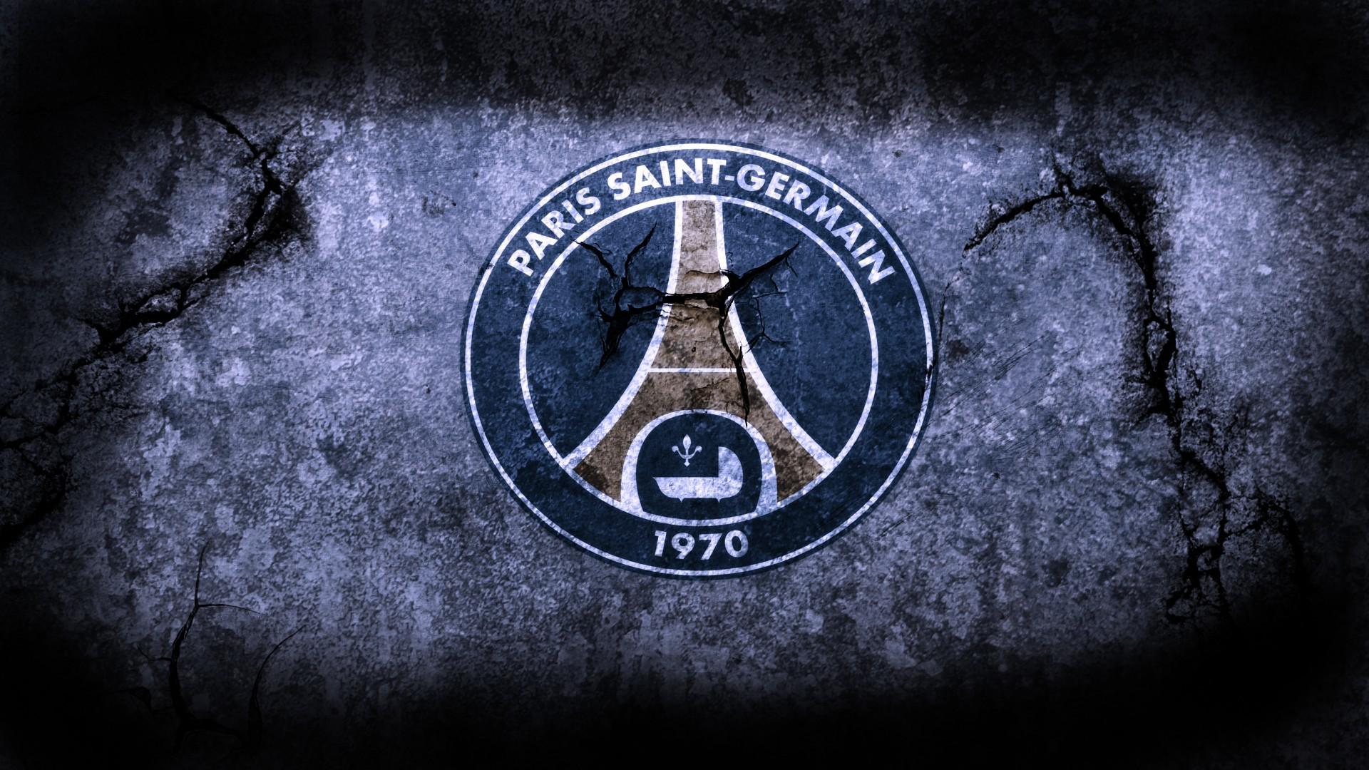 Paris Saint Germain PSG FC Football Logo HD Wallpaper