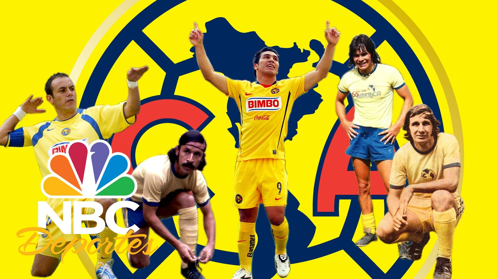 El 11 ideal histórico del Club América | NBC Deportes | NBC Deportes –  YouTube