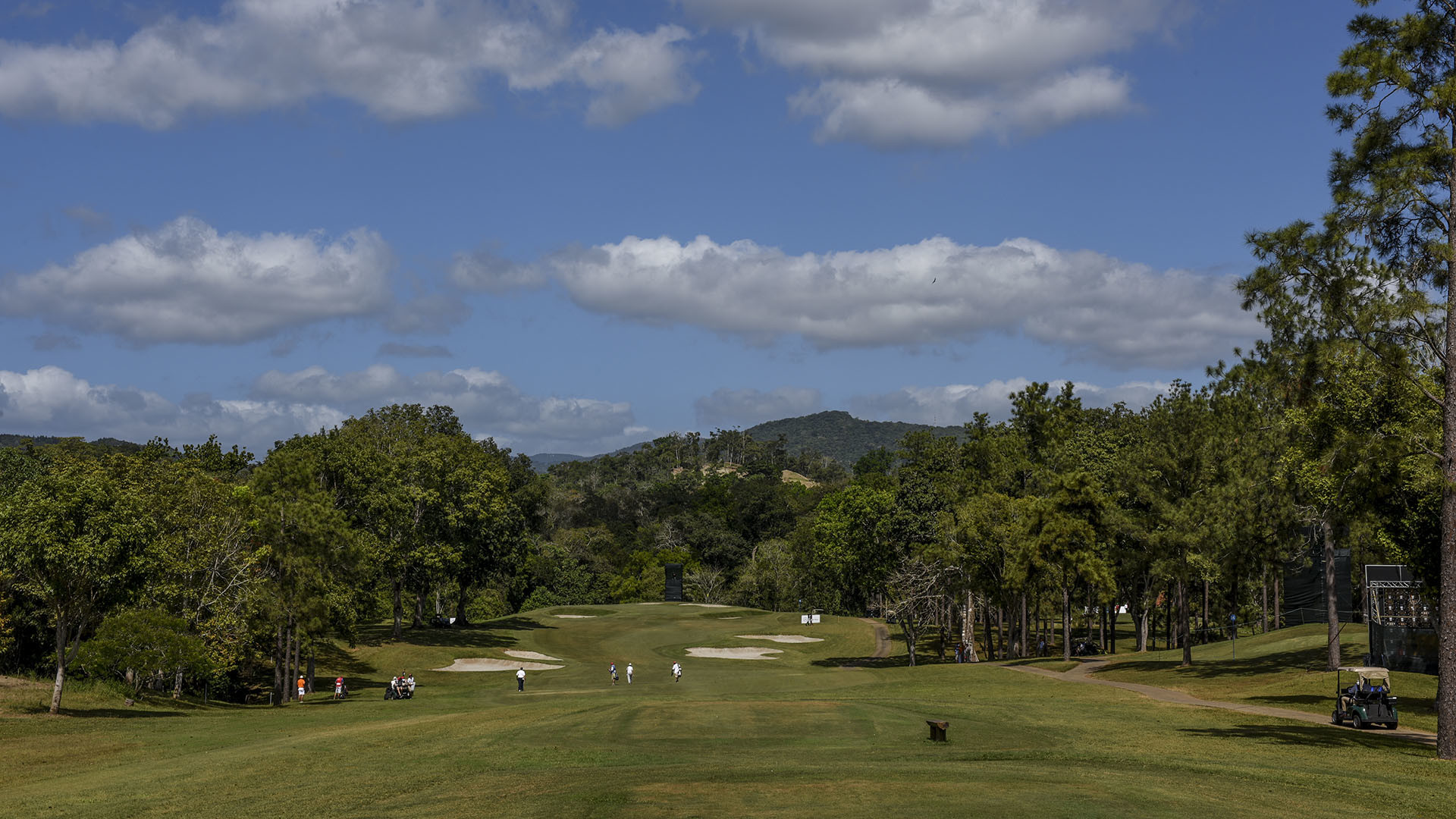 Panama City, Panama: Pictured at the 2017 Latin America Amateur  Championship at the Club